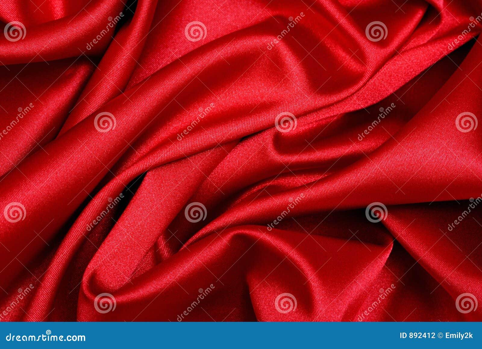 Czerwony atłas fale