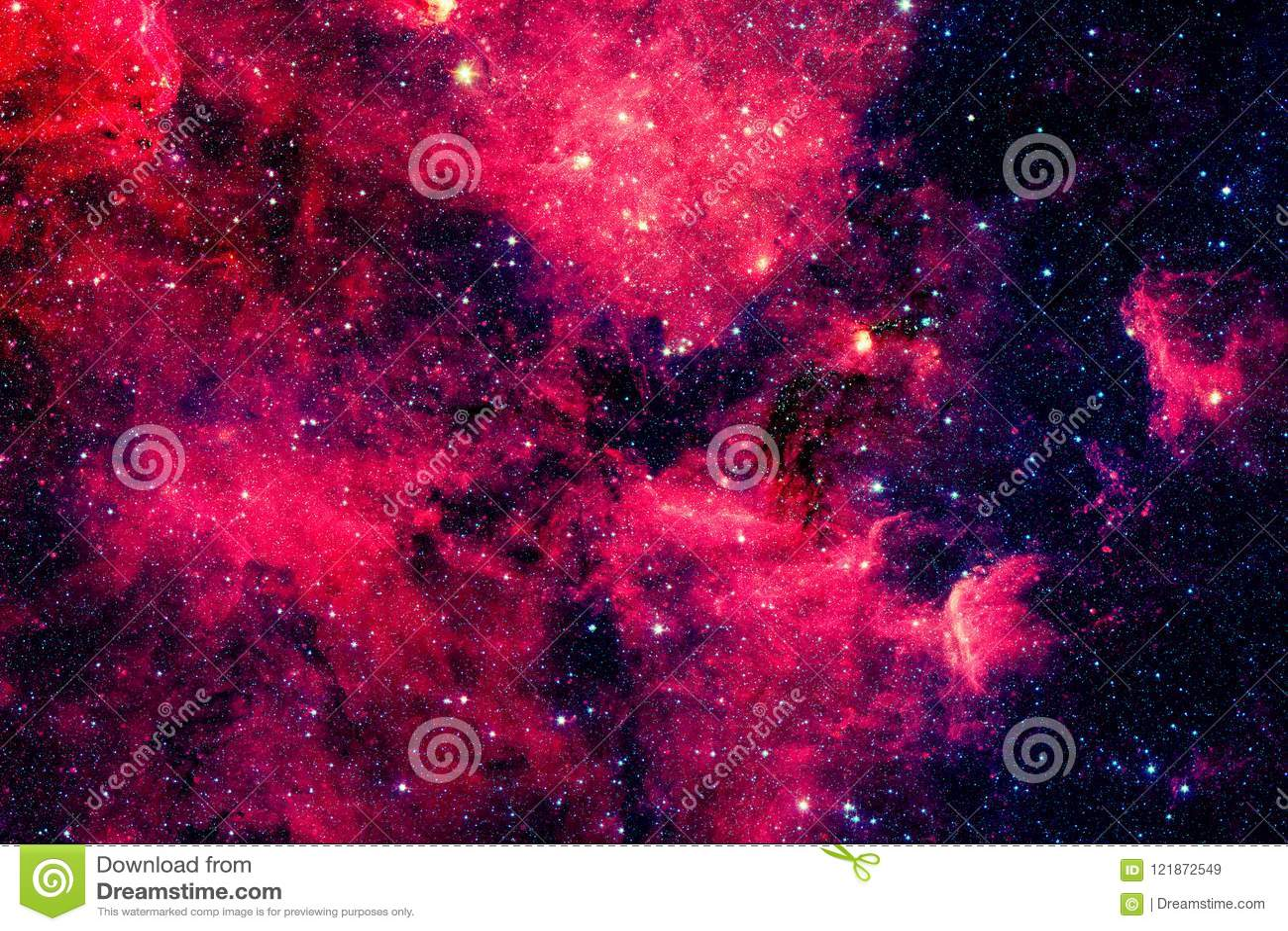 Czerwony galaxy Elementy ten wizerunek meblujący NASA