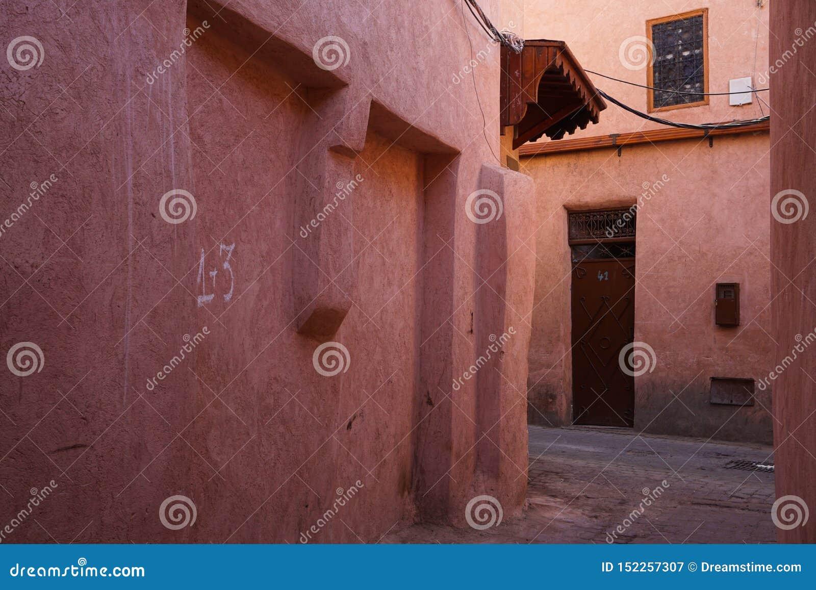 Czerwony Medina Marrakech, Maroko