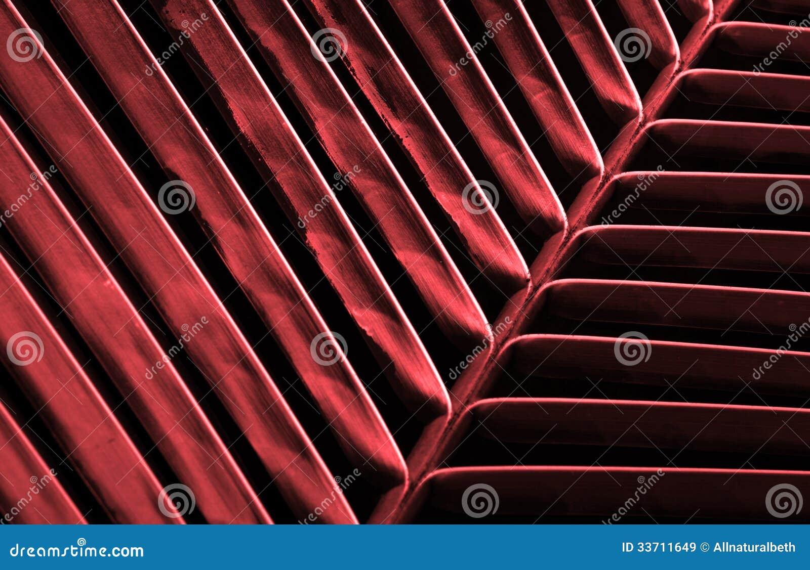 Czerwony natury tło