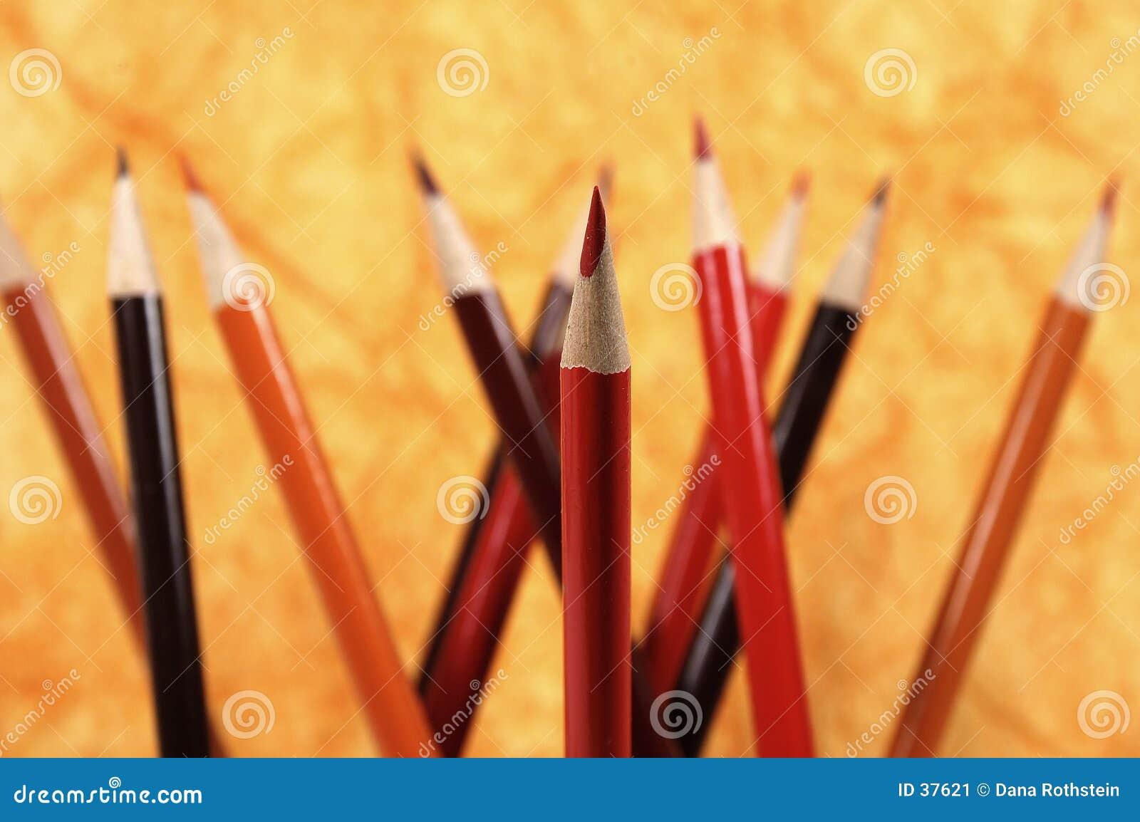 Czerwony ołówkowa