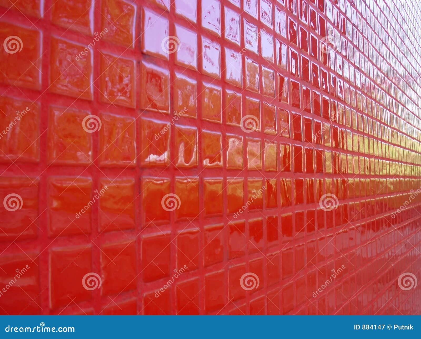 Czerwony perspektywiczna
