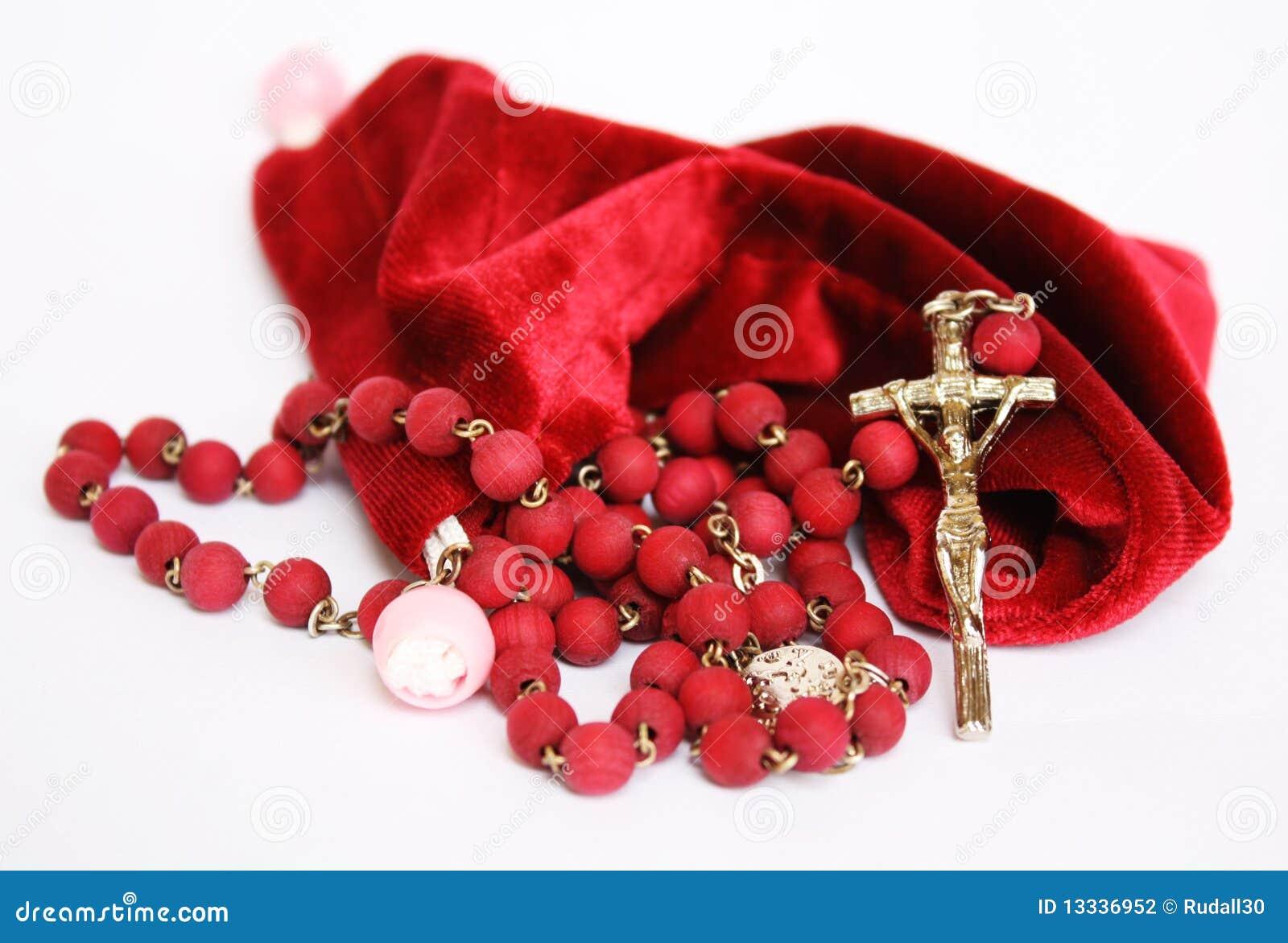 Czerwony różaniec