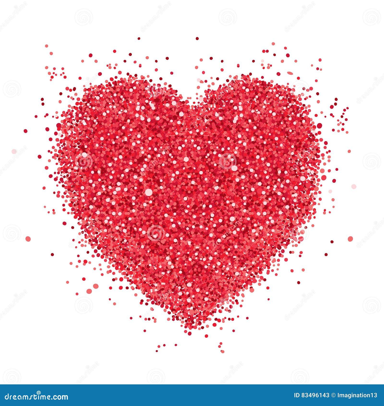 Czerwony serce