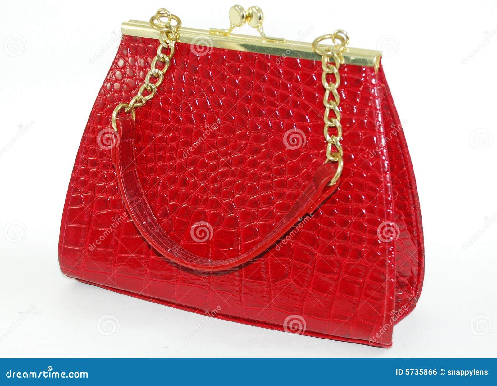 Czerwony torby