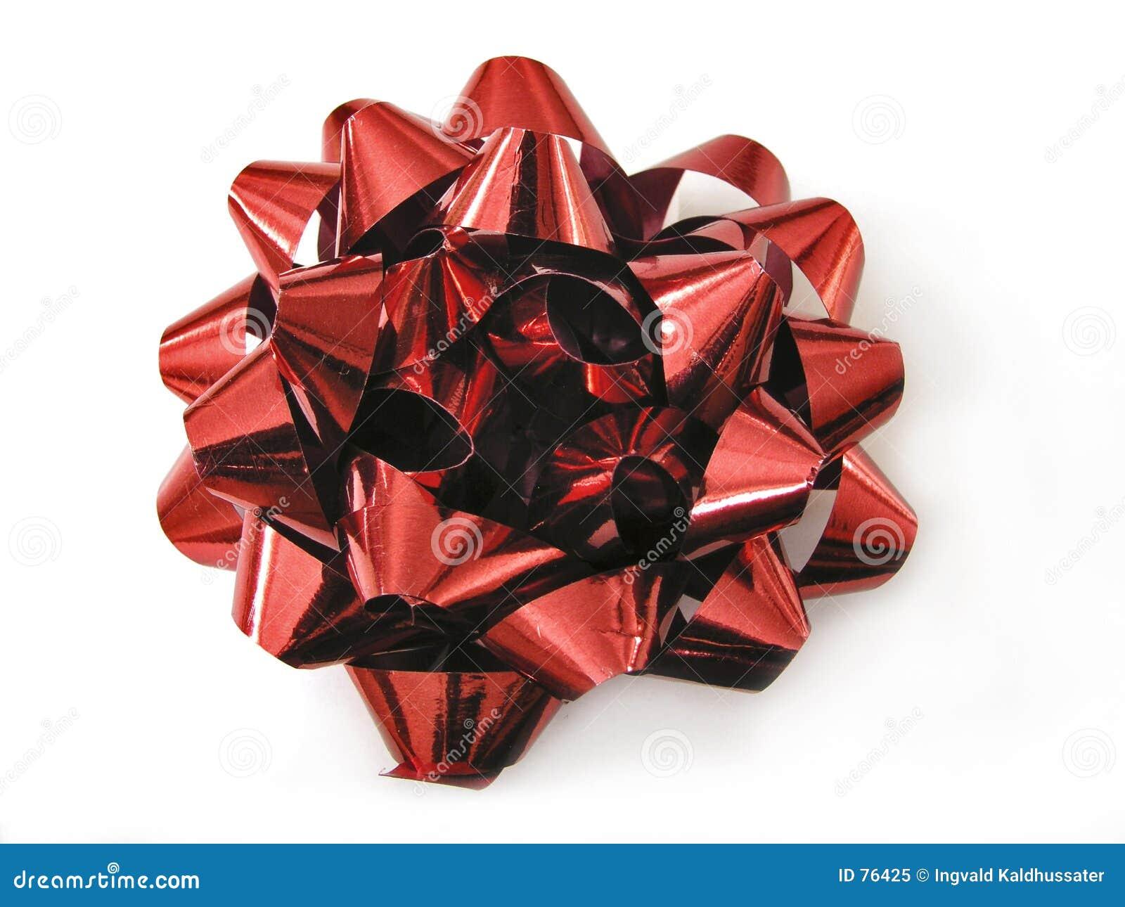 Czerwony ukłon