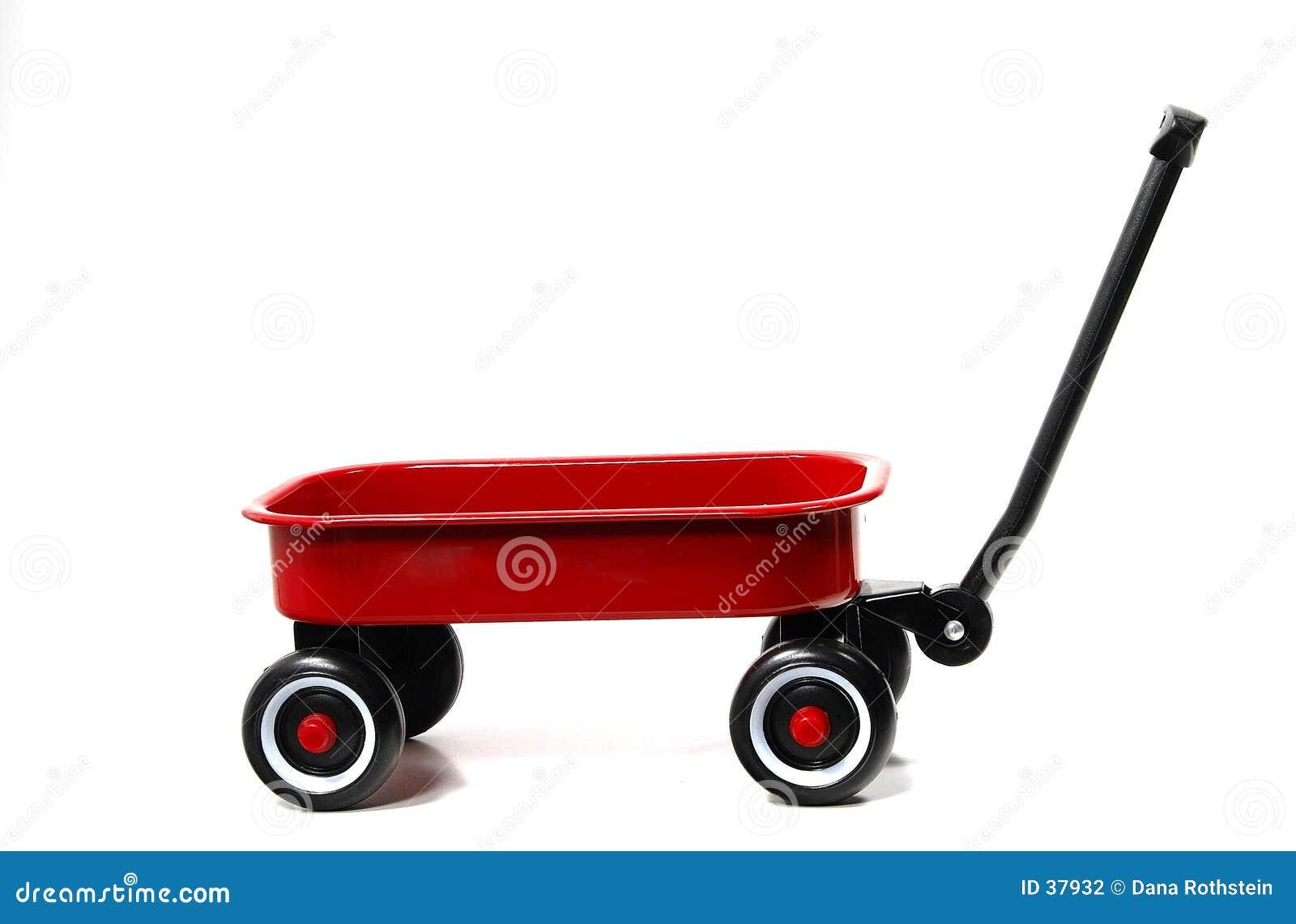 Czerwony wózek