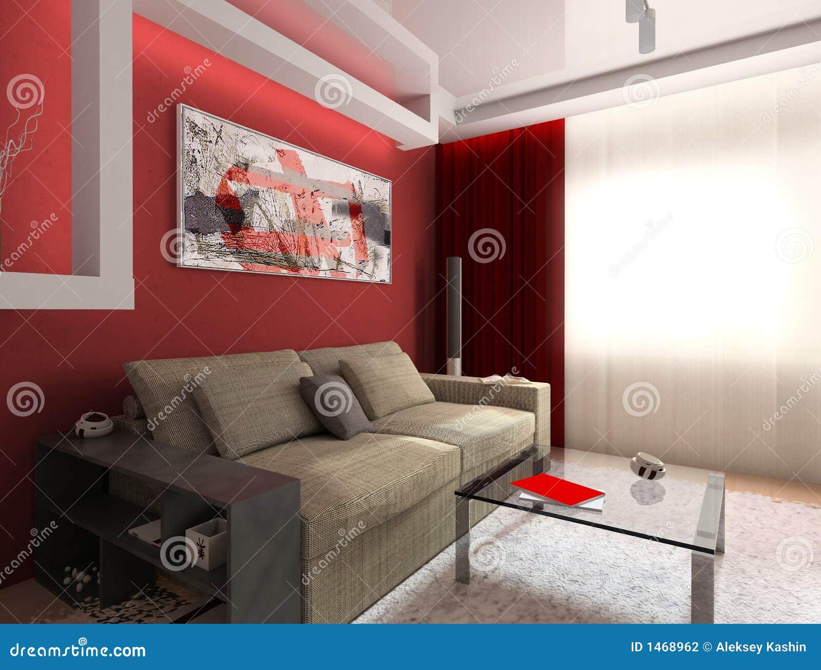 Czerwony wewnętrzna