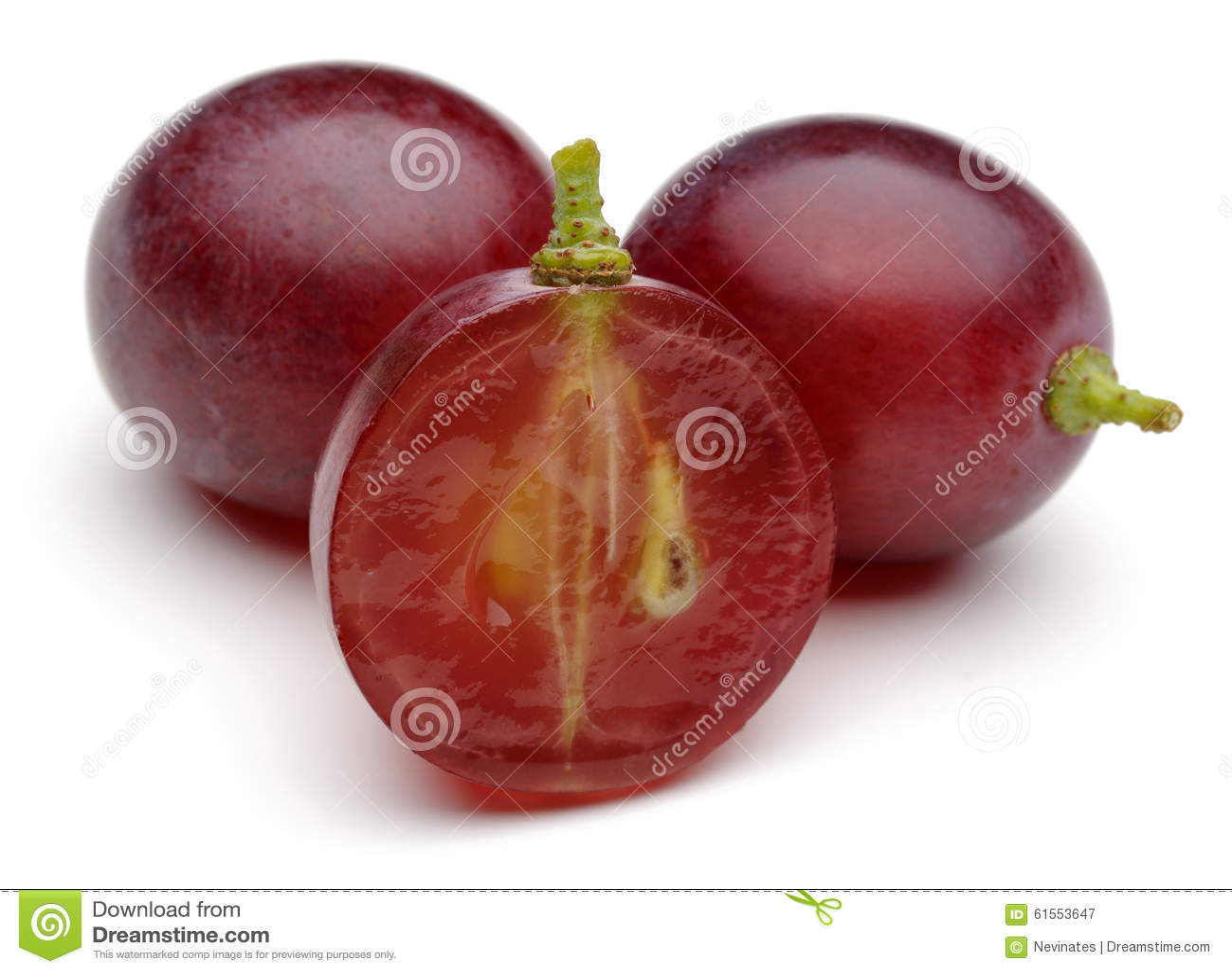 Czerwony winogrono