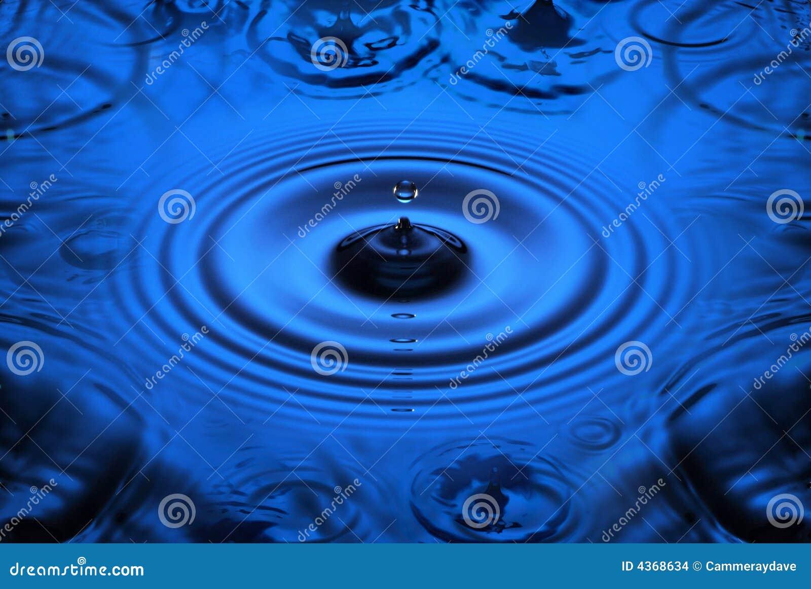 Czochr kropli wody.