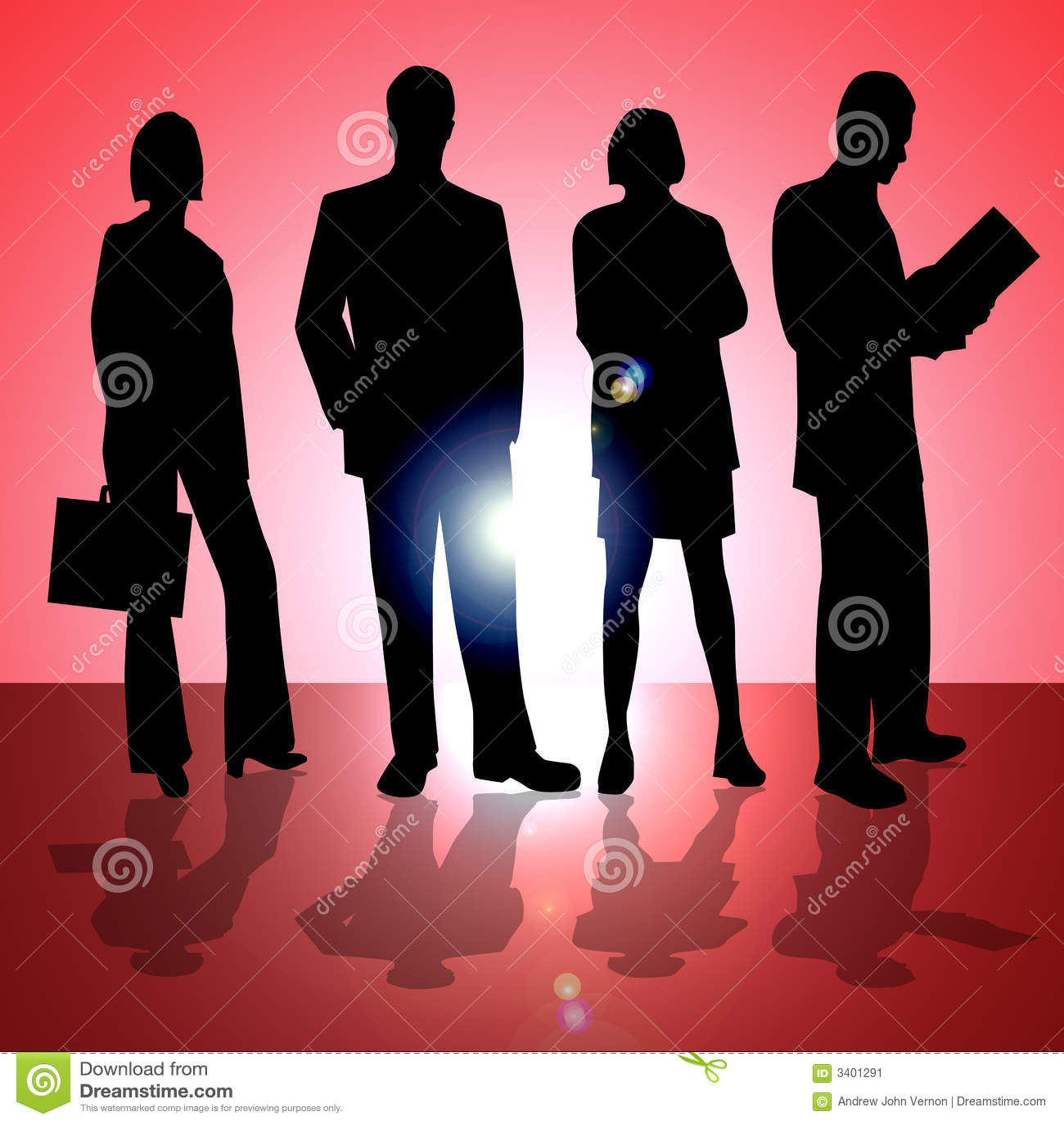 Czterech ludzi biznesu