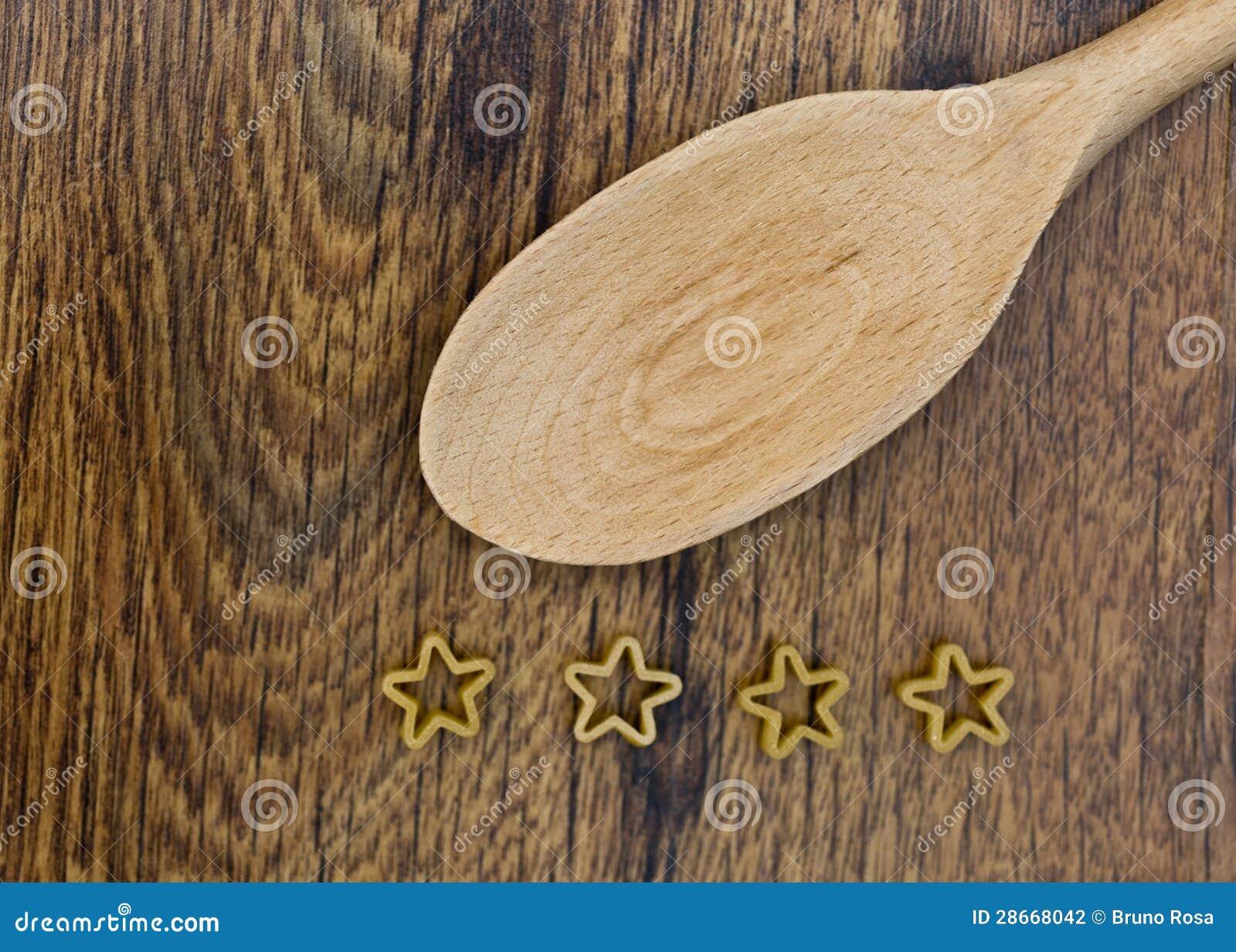 Cztery gwiazd makaron