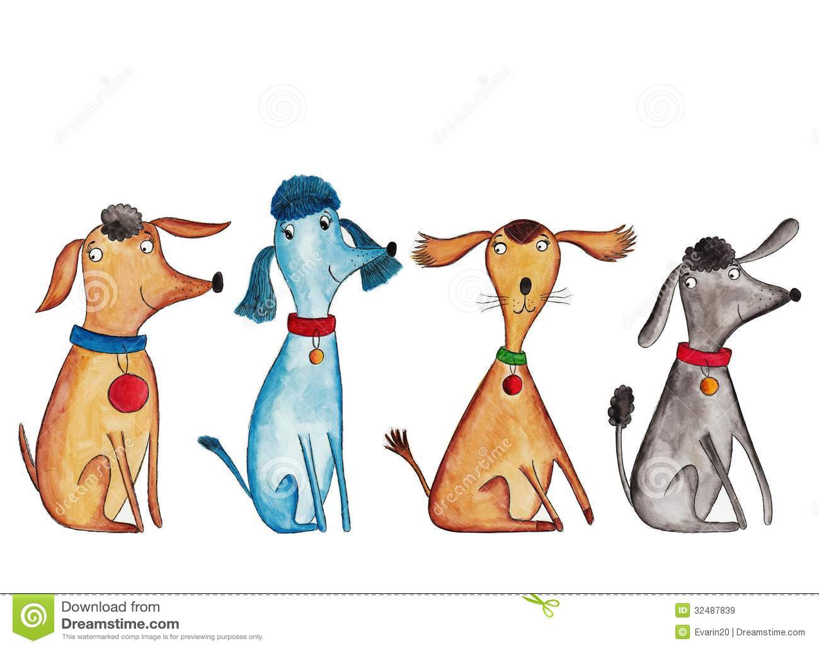 Cztery psa