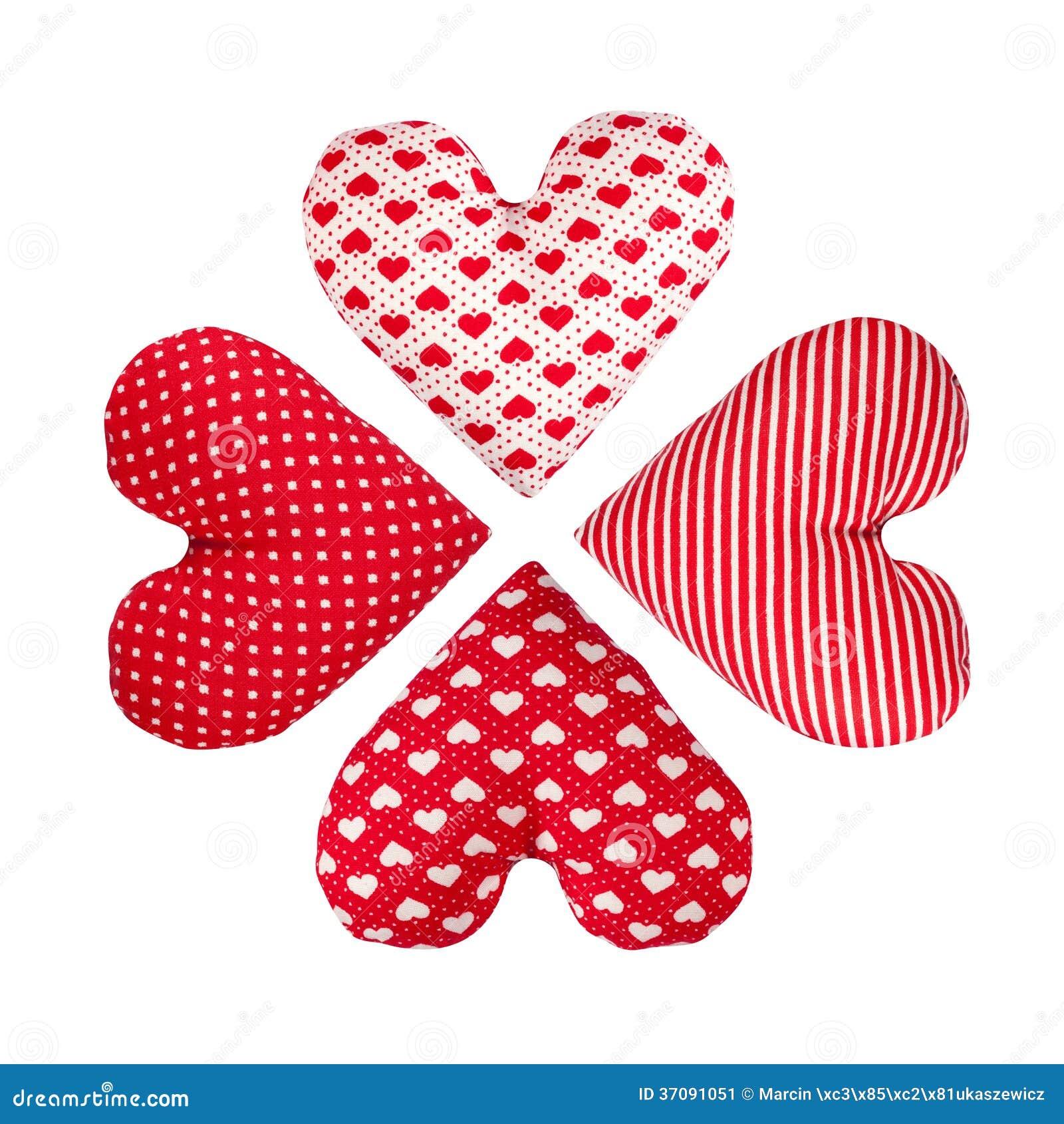 Download Cztery Serca Robią Różyczce. Walentynka Dzień Obraz Stock - Obraz złożonej z foremność, tekstura: 37091051