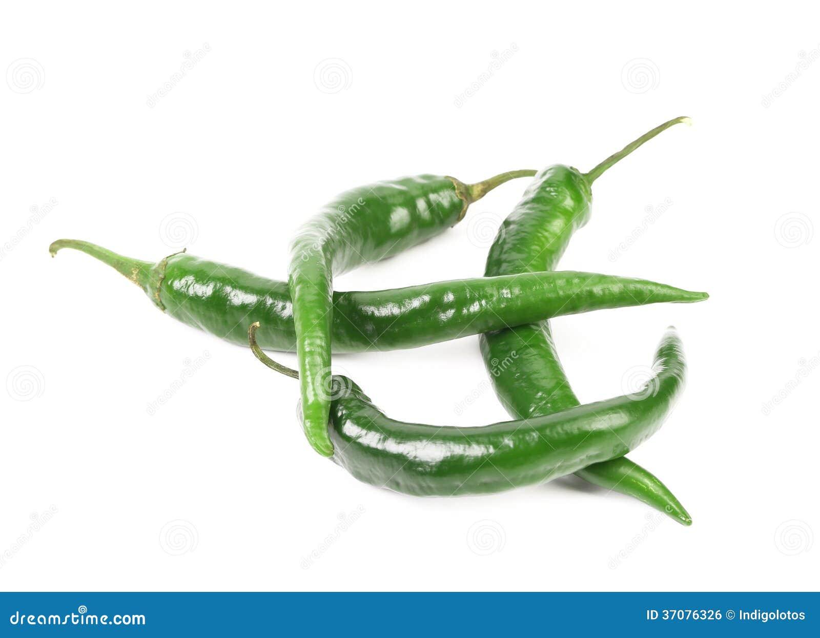 Download Cztery zielonego pieprzu. zdjęcie stock. Obraz złożonej z meksykanin - 37076326