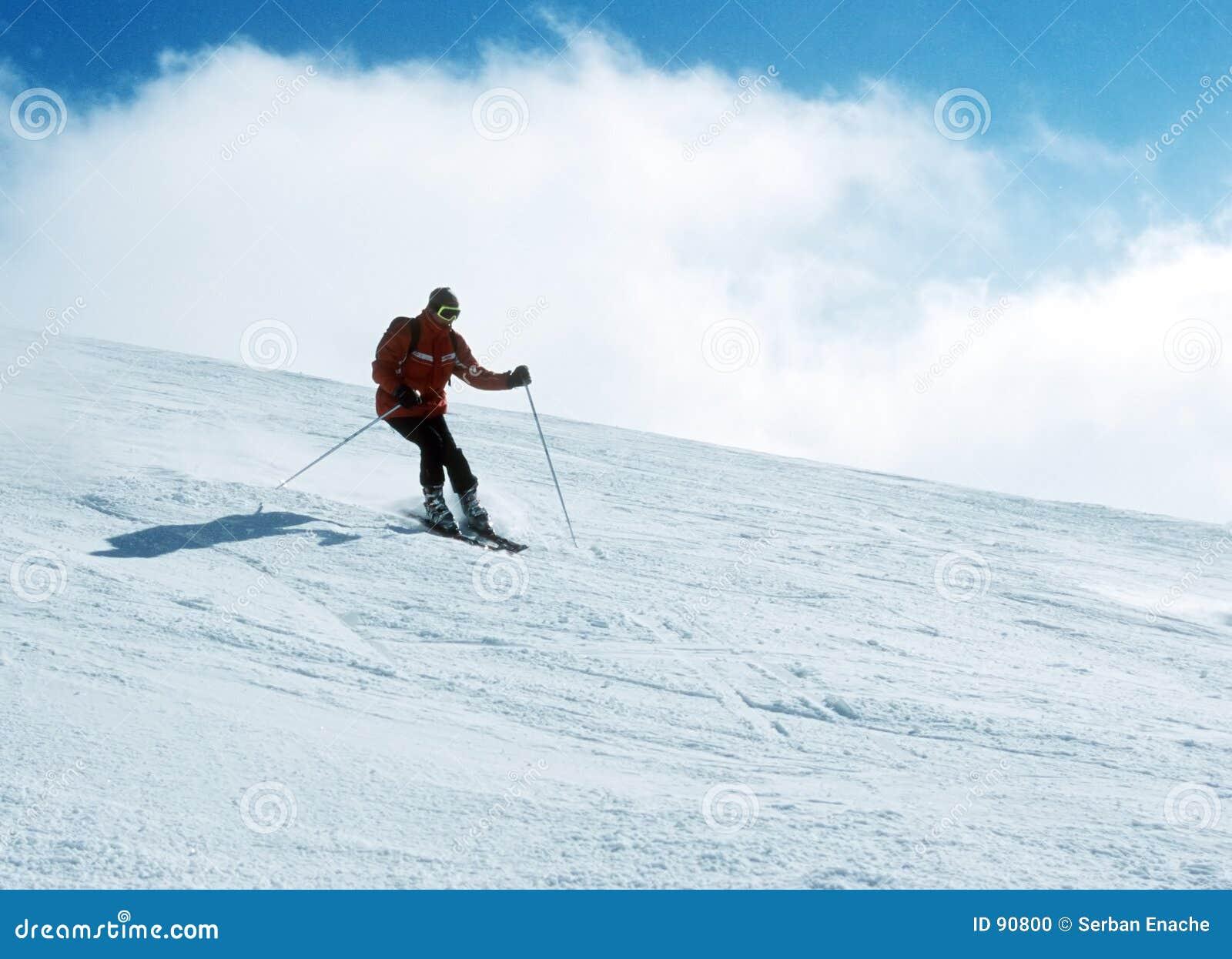 Czyny 7 narciarka