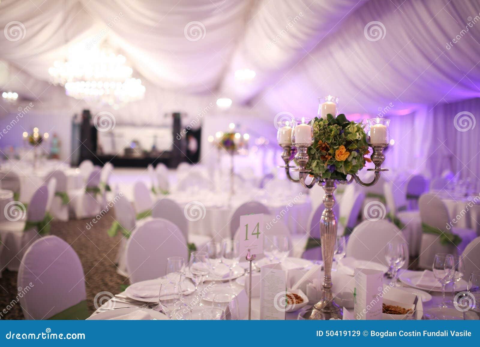 Assez Décoration De Luxe élégante De Table De Mariage Photo stock  VC82