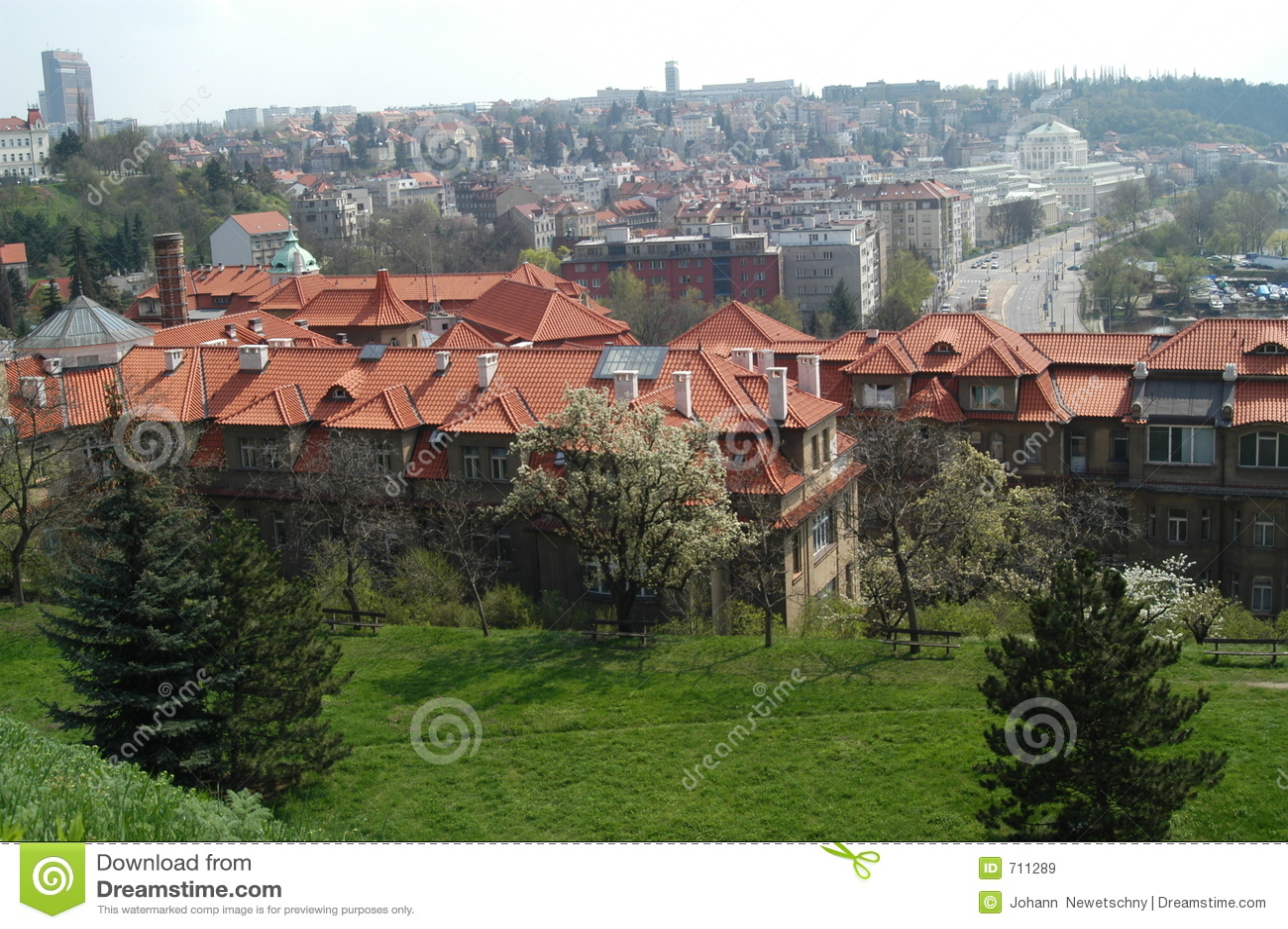 Dächer in Prag