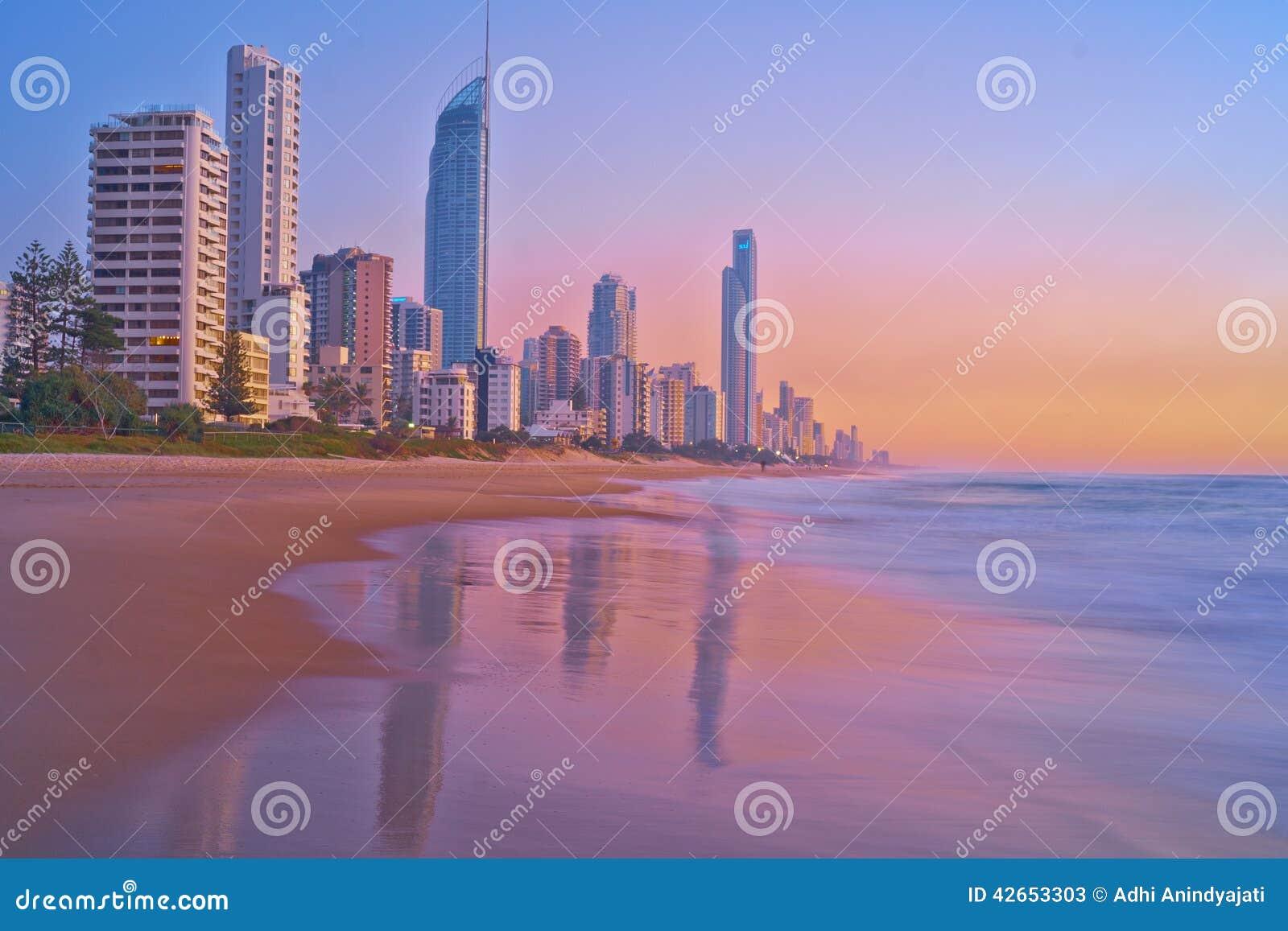 Dämmerung bei Gold Coast - Landschaft