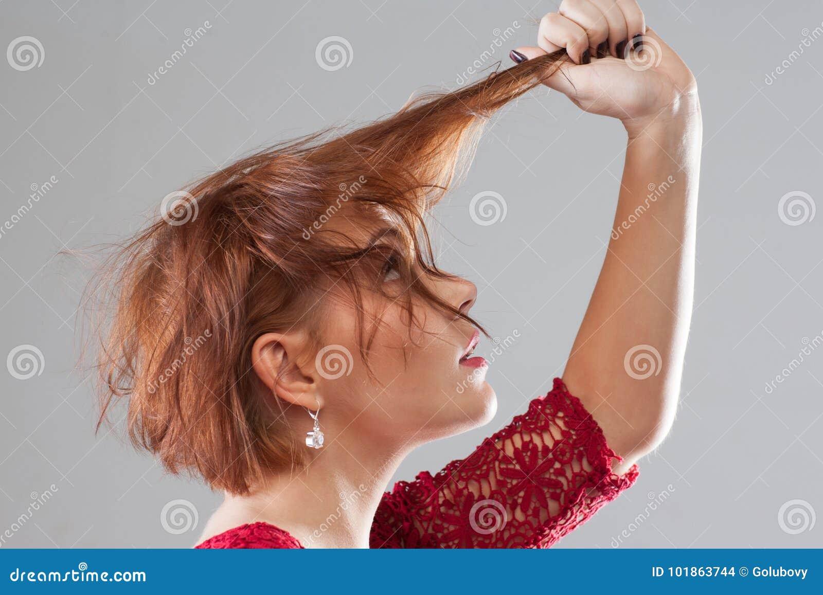 Dålig dag hårförlust Frisyradvertizing