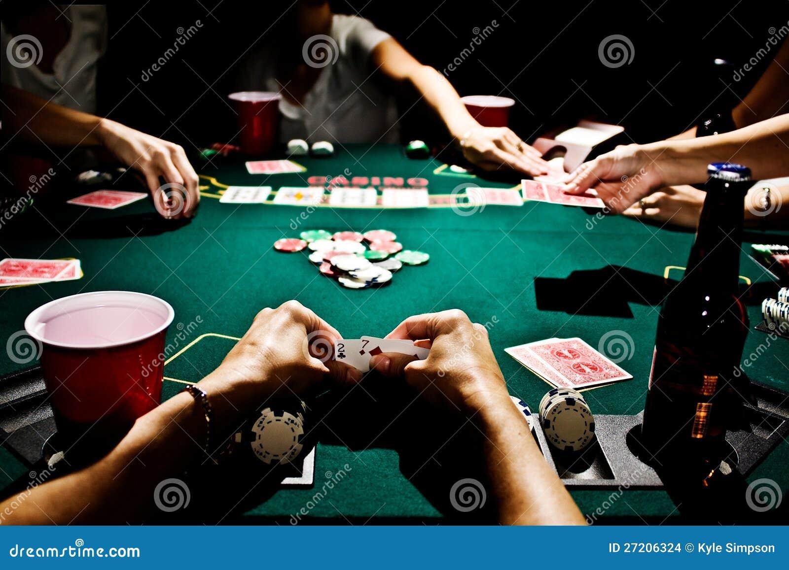 Dåligast hand i poker