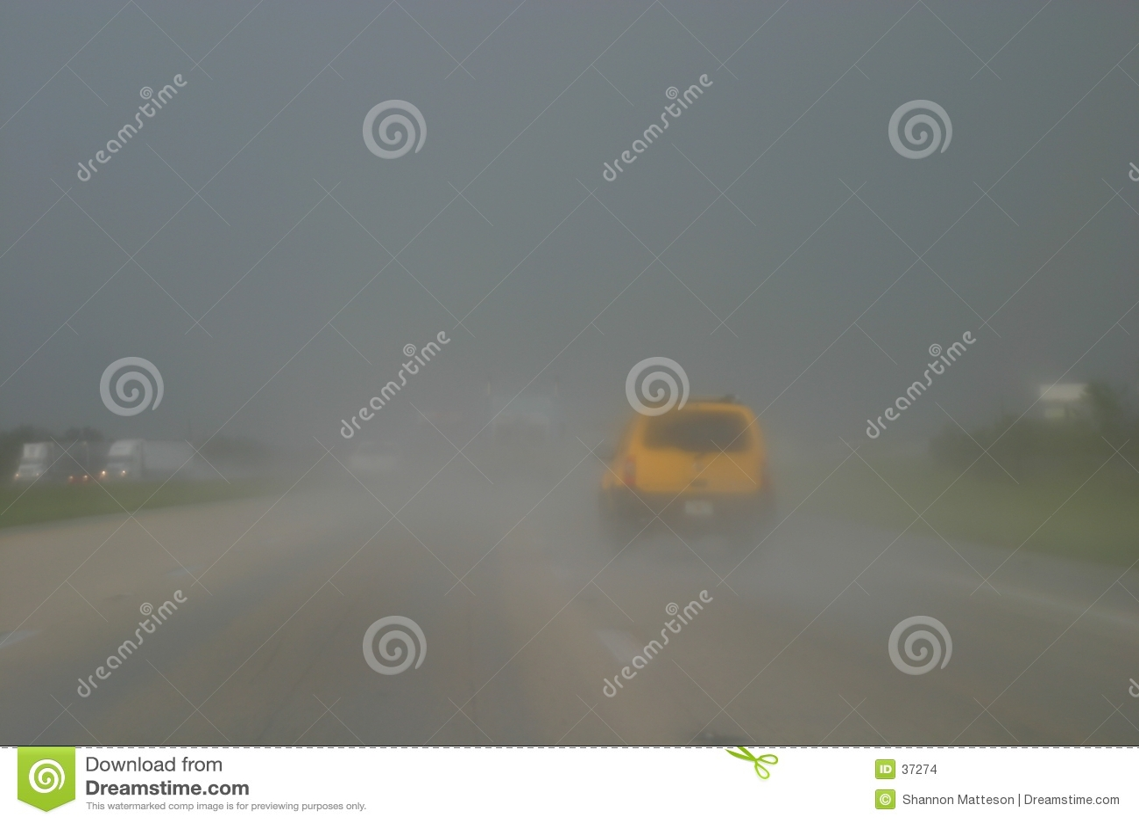 Dåligt körande väder