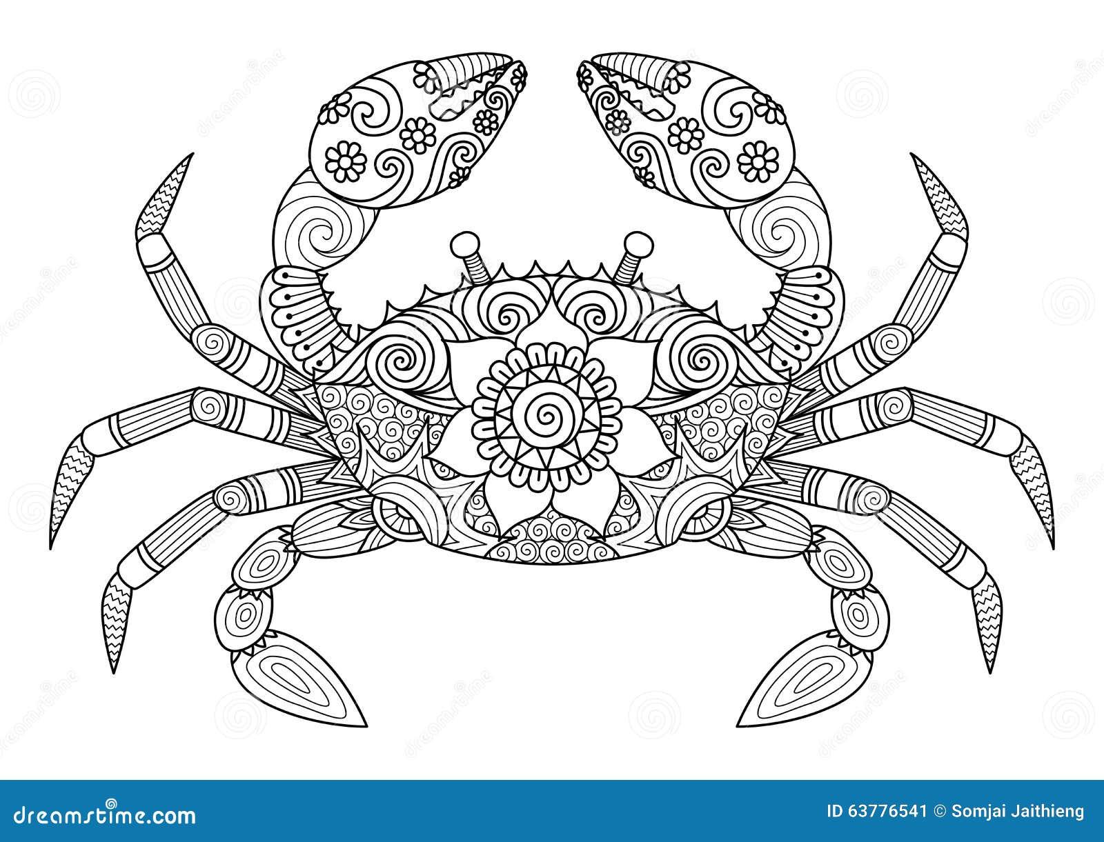 Cangrejo Ilustraciones Stock, Vectores, Y Clipart – (17,407 ...