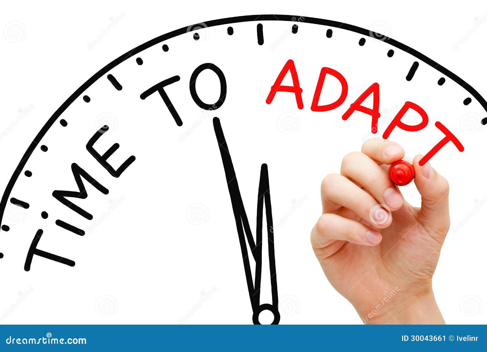 Hora de adaptarse