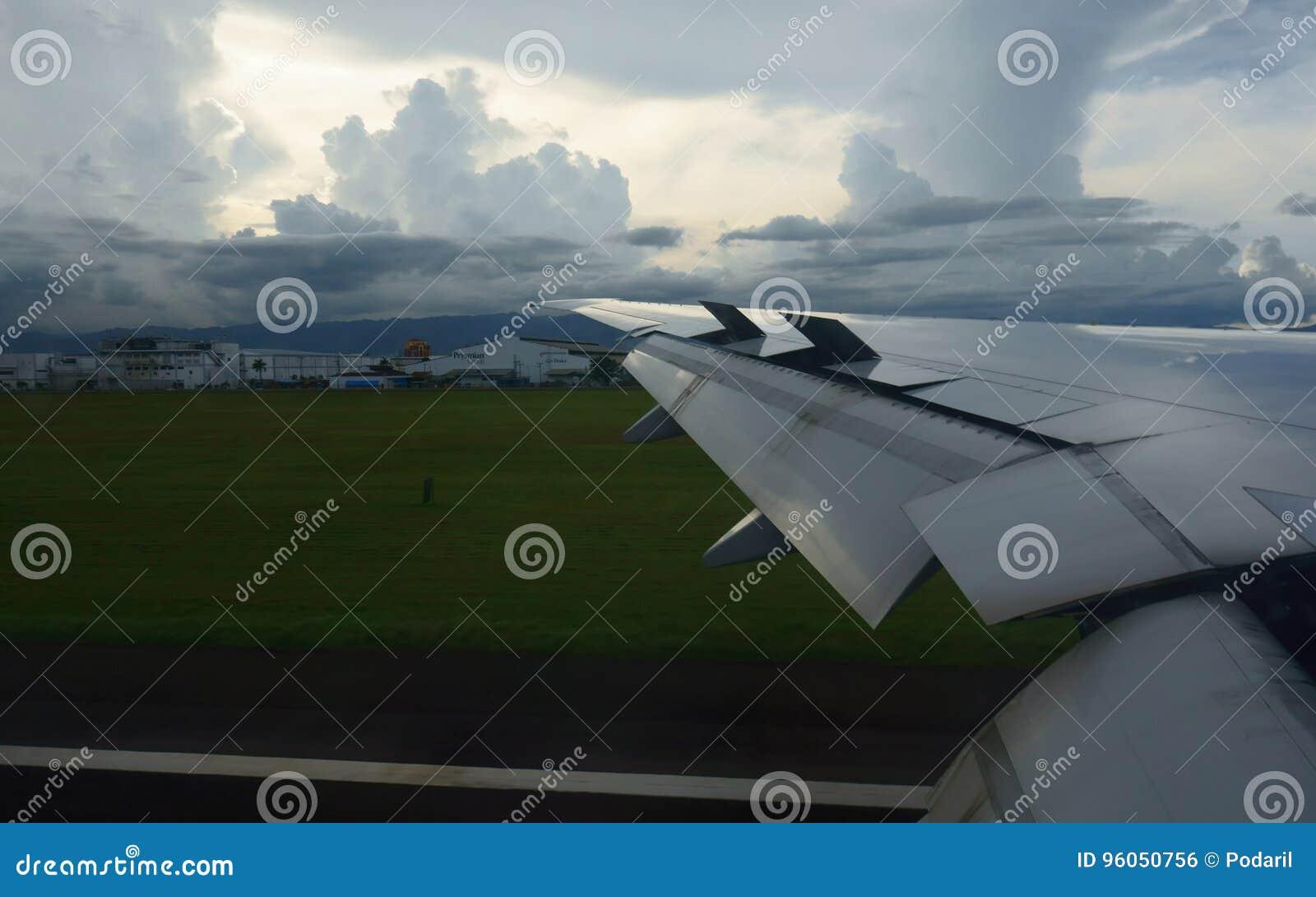 Débarquement à l aéroport de Cebu
