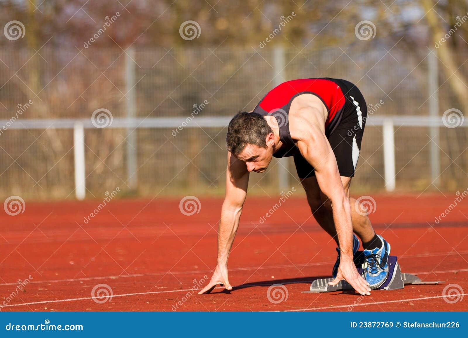 Début Sprinting dans l athlétisme