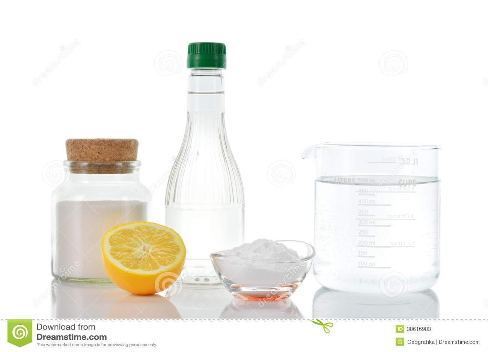 D capants naturels citron de sel de bicarbonate de soude - Nettoyer four bicarbonate de soude vinaigre ...