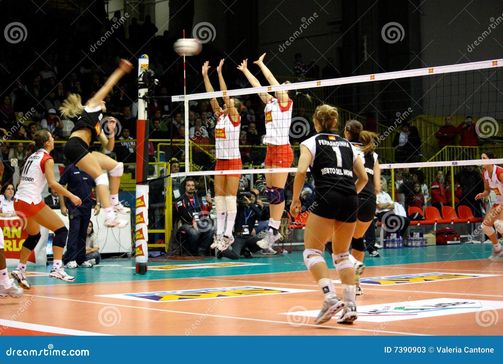 Décharge - volleyball tout le jeu 2008 d étoile