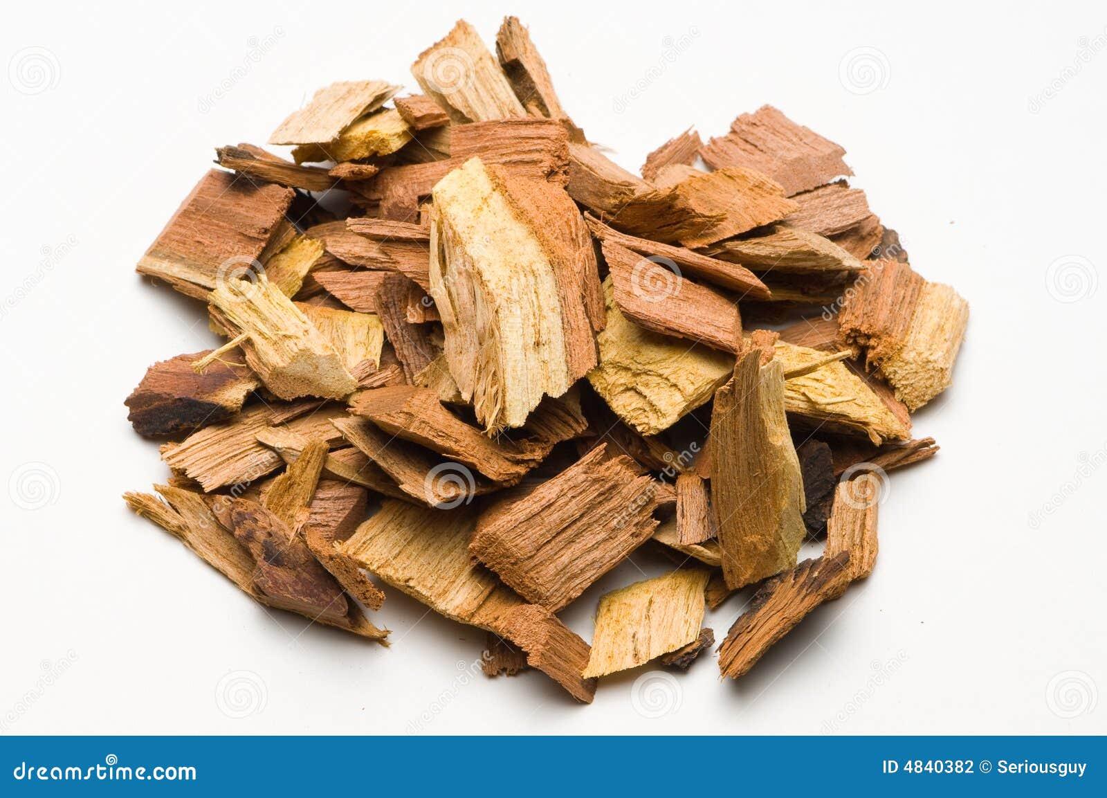 Déchets de bois de mesquite pour le barbecue