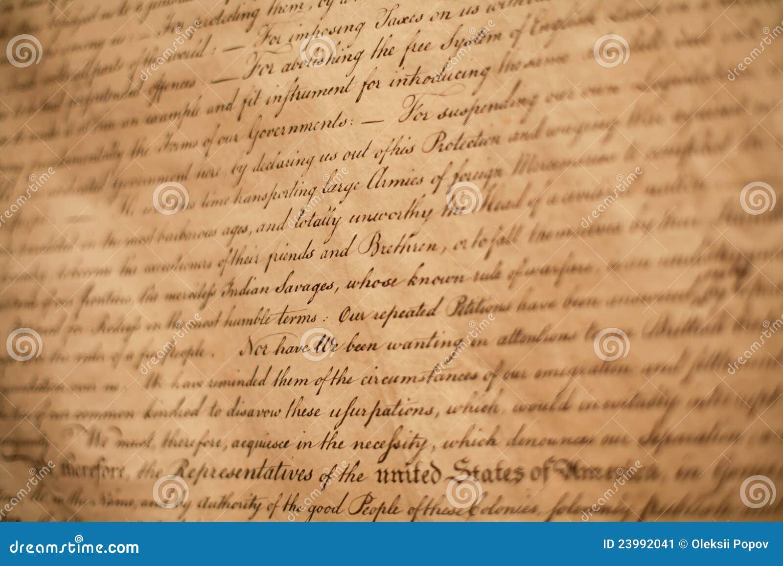 Déclaration d indépendance