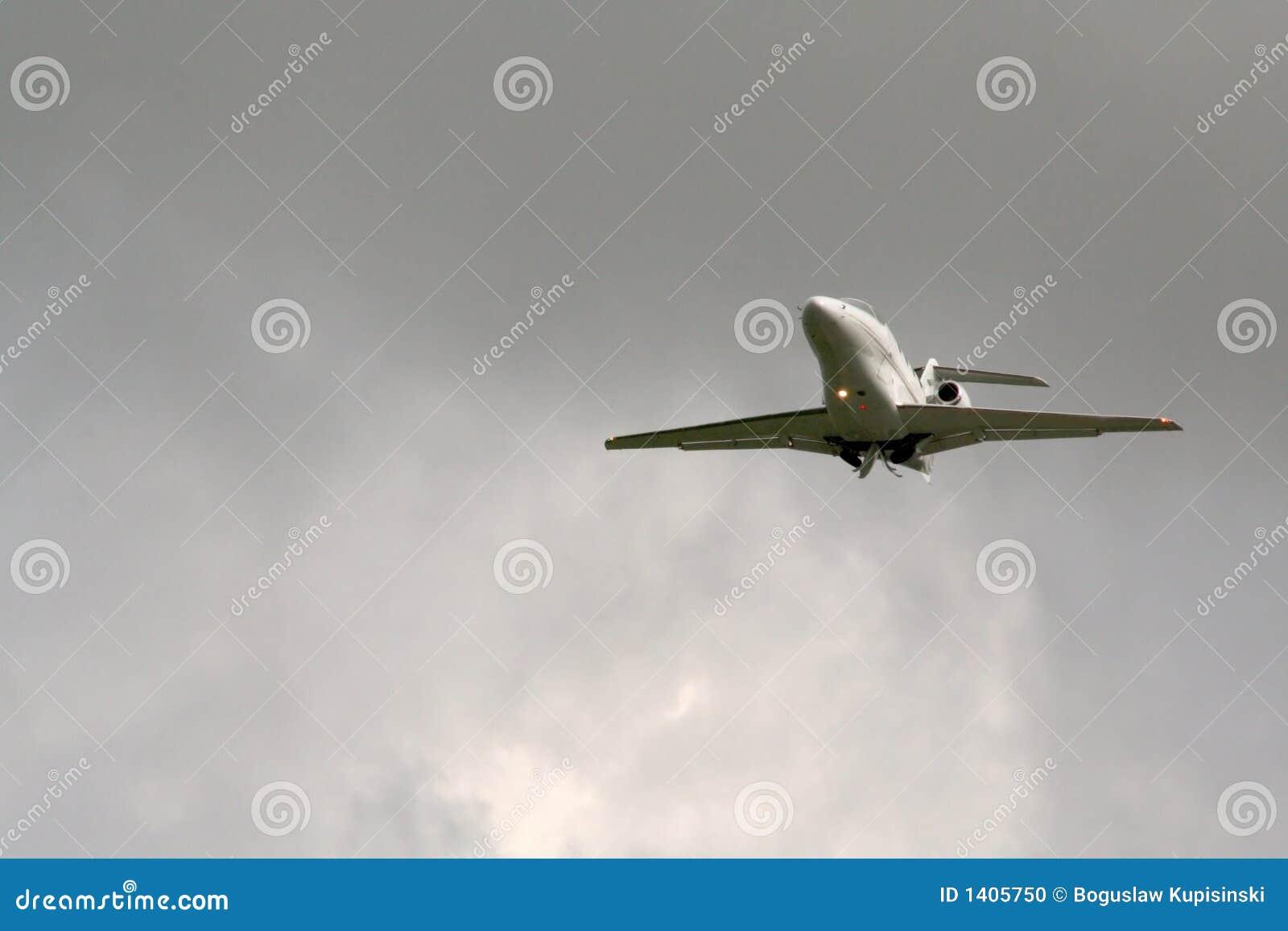 Décollage d avion à réaction
