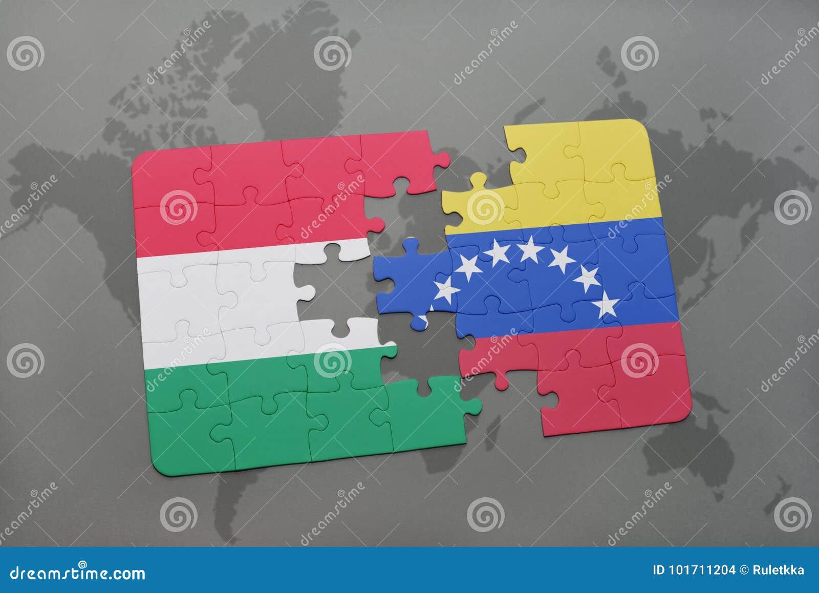 Carte Du Monde Hongrie.Deconcertez Avec Le Drapeau National De La Hongrie Et Du