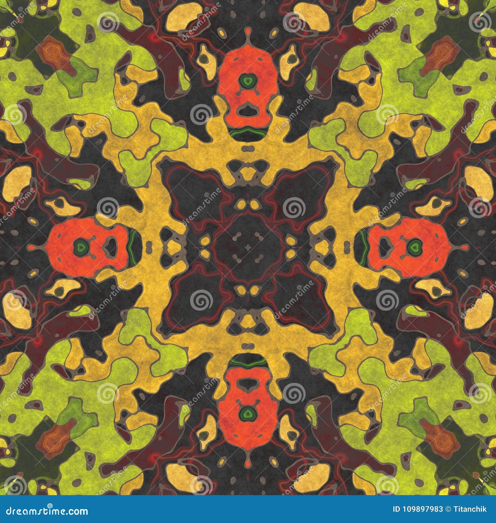 Décor à la maison fleuri de la géométrie abstraite art géométrique d utilisation de modèle