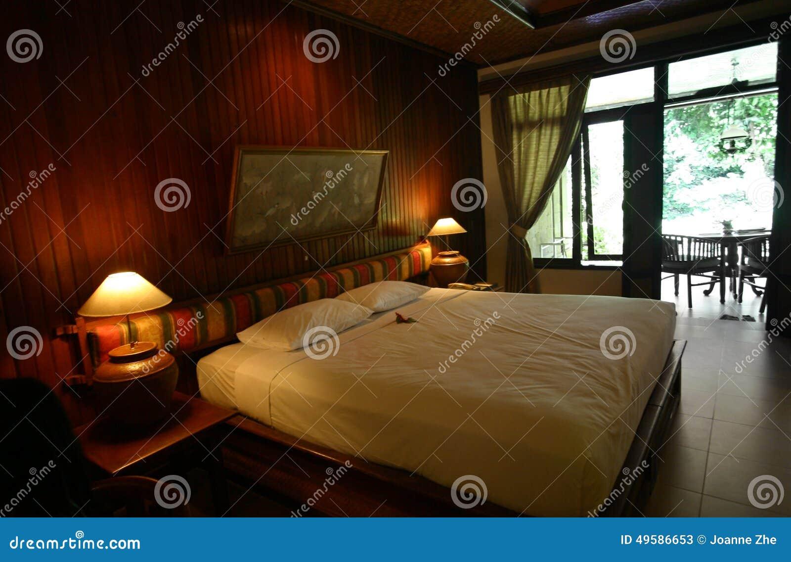 Décor De Style De Chambre à Coucher D\'hôtel De Bali Image ...