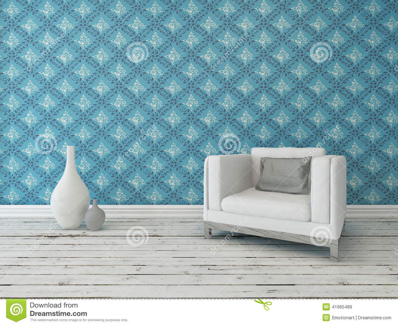 D cor int rieur rustique de salon illustration stock for Decoration rustique interieur