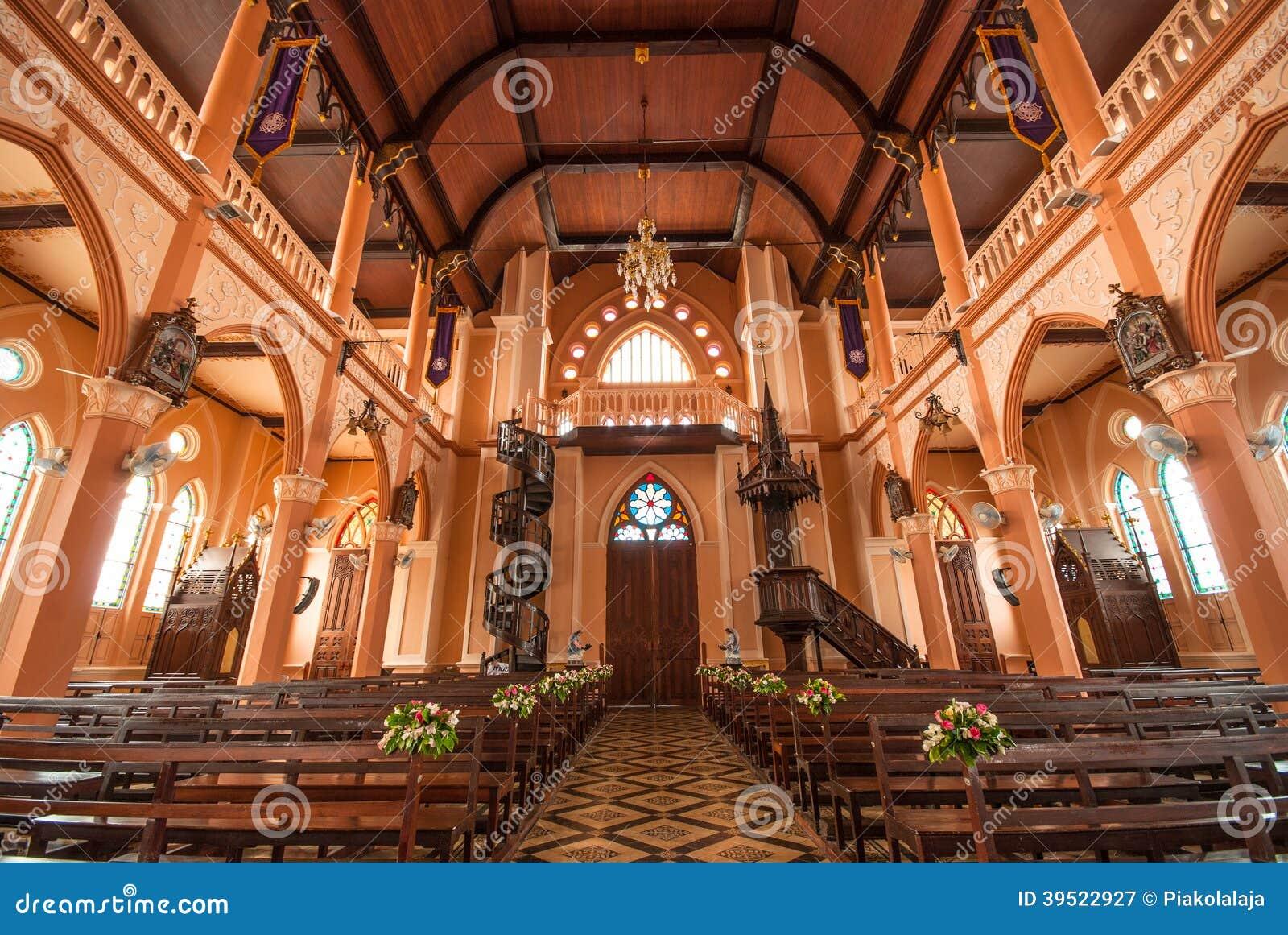 D coration l 39 int rieur de roman catholic church chez - Decoration de l interieur ...