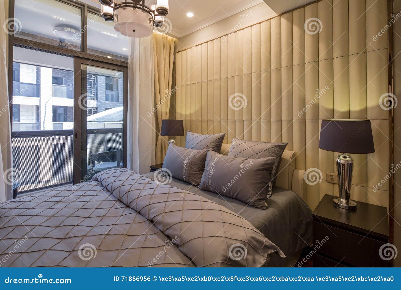 Décoration à La Maison Intérieure De Luxe Moderne De Chambre ...