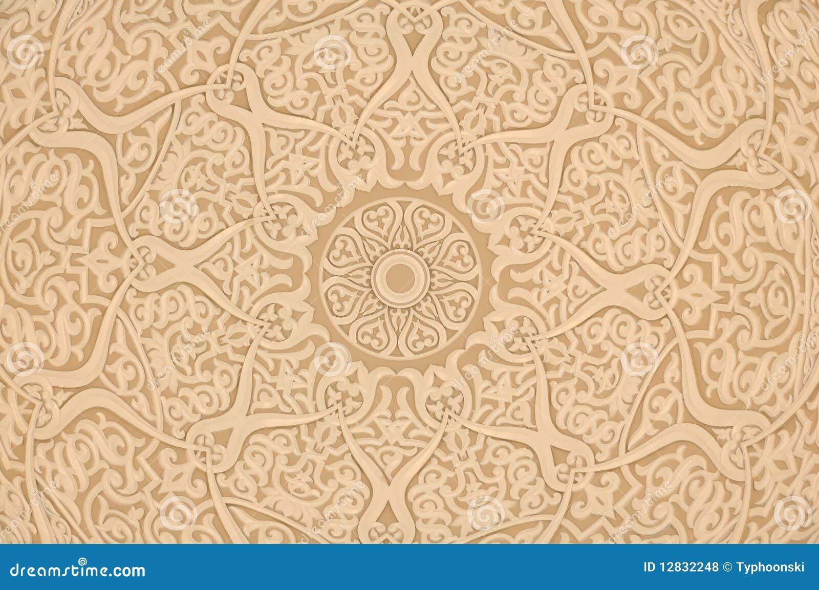 Décoration arabe orientale photo stock. Image du fleuri   12832248