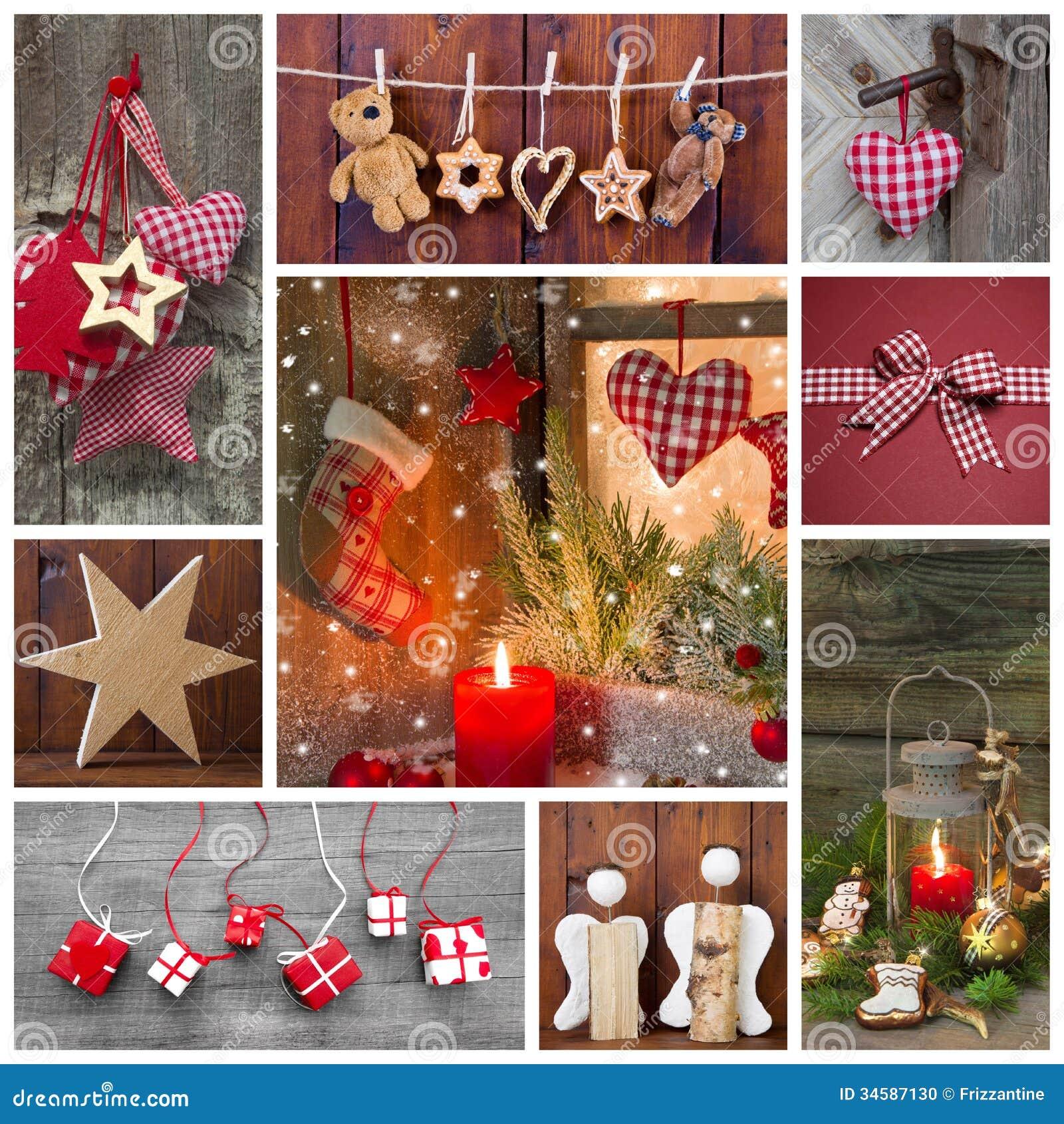 #B01C1B Décoration Classique De Noël En Rouge Vérifié Et Vert  6115 decoration de noel verte 1300x1390 px @ aertt.com