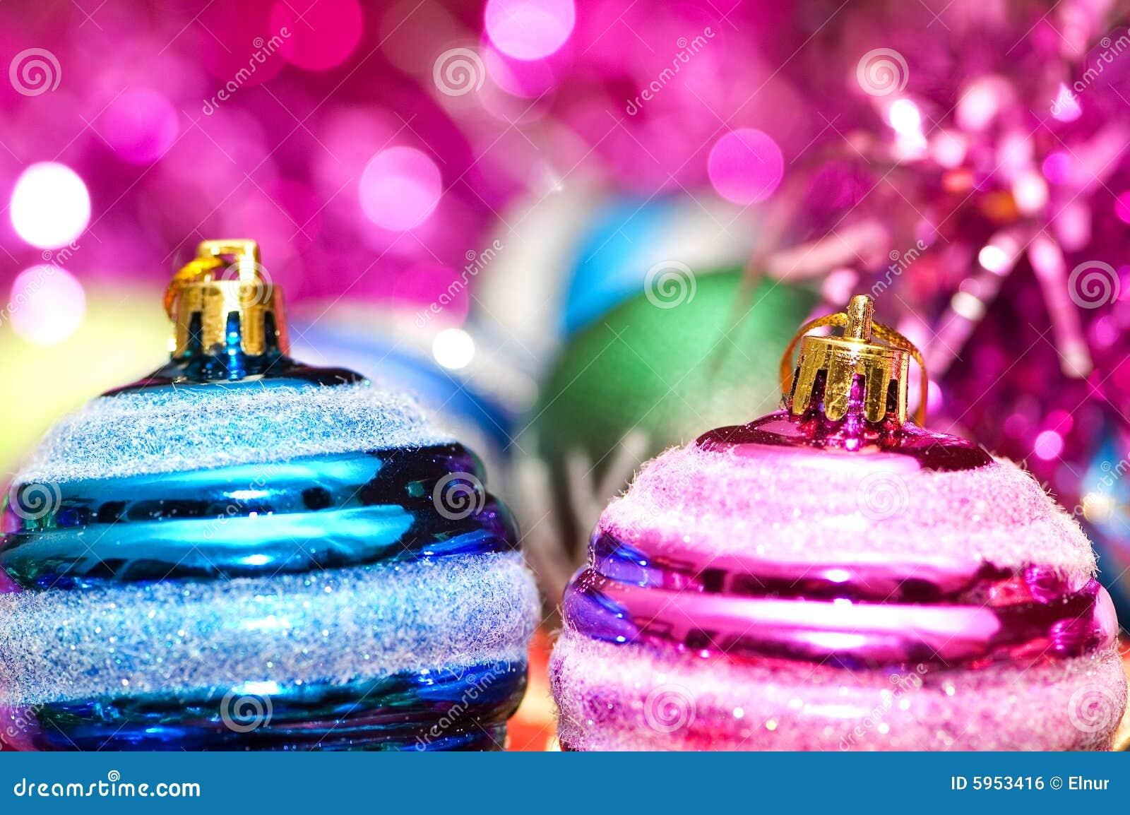 Décoration colorée de Noël