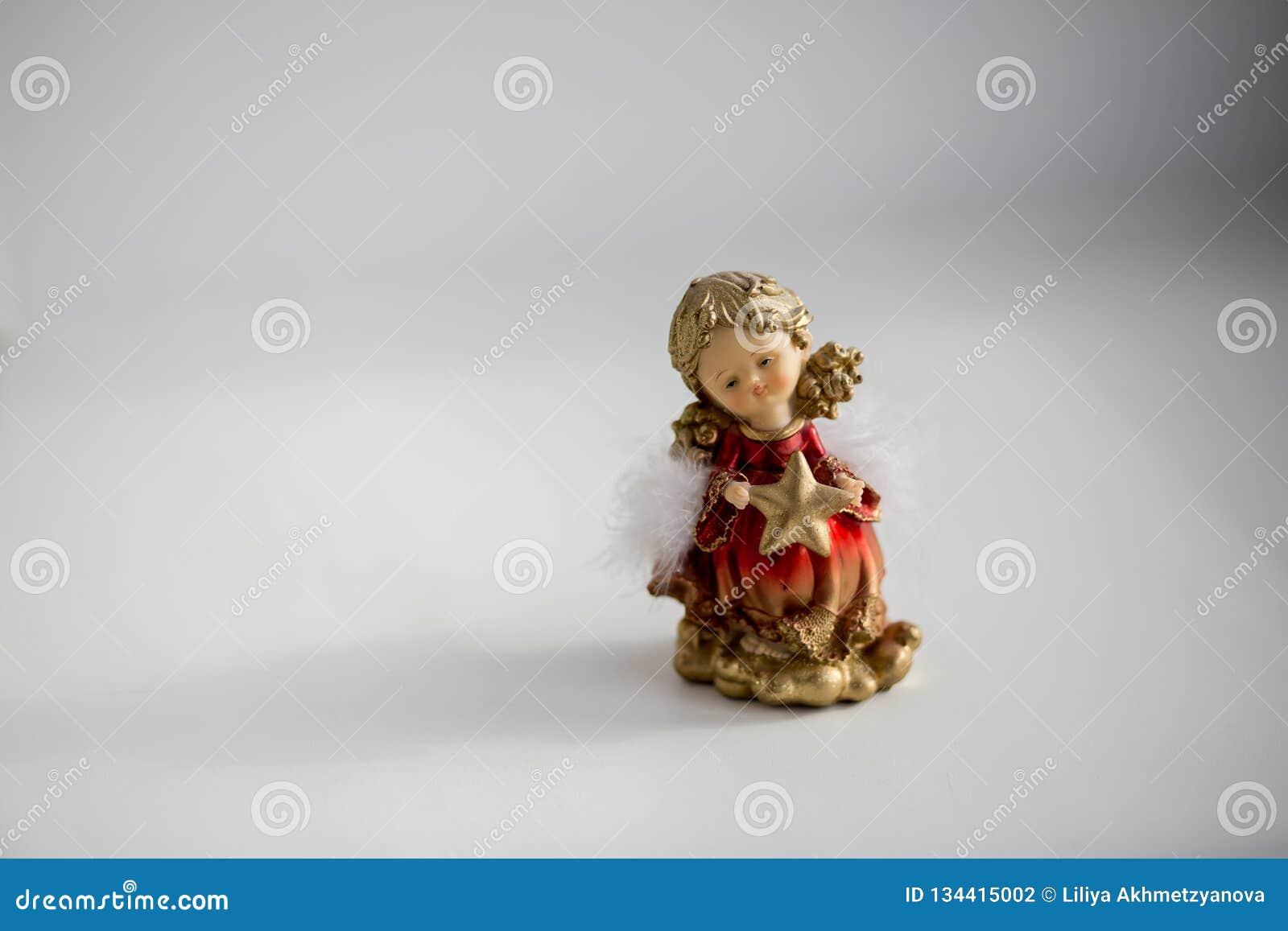 Décoration décorative de Noël sous forme d ange de fille