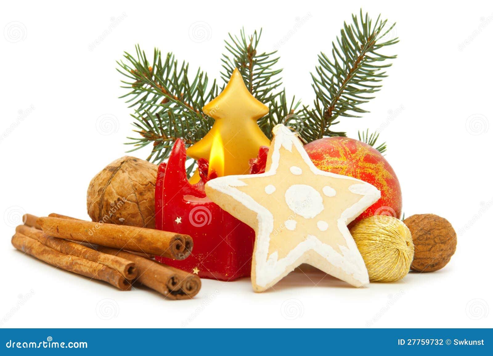 Décoration d arrivée et biscuits de Noël