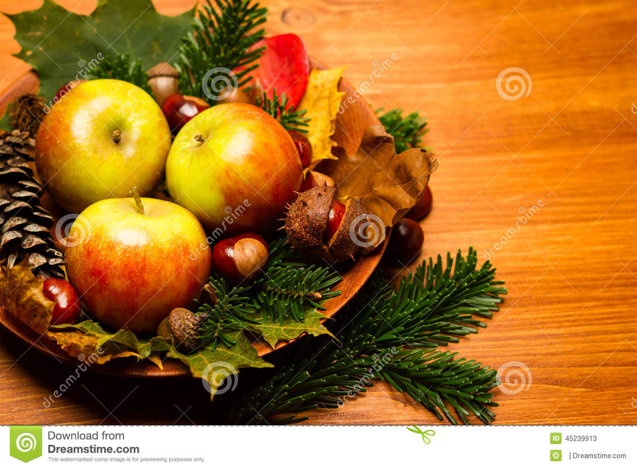 D coration d 39 automne photo stock image 45239913 for Decoration d automne