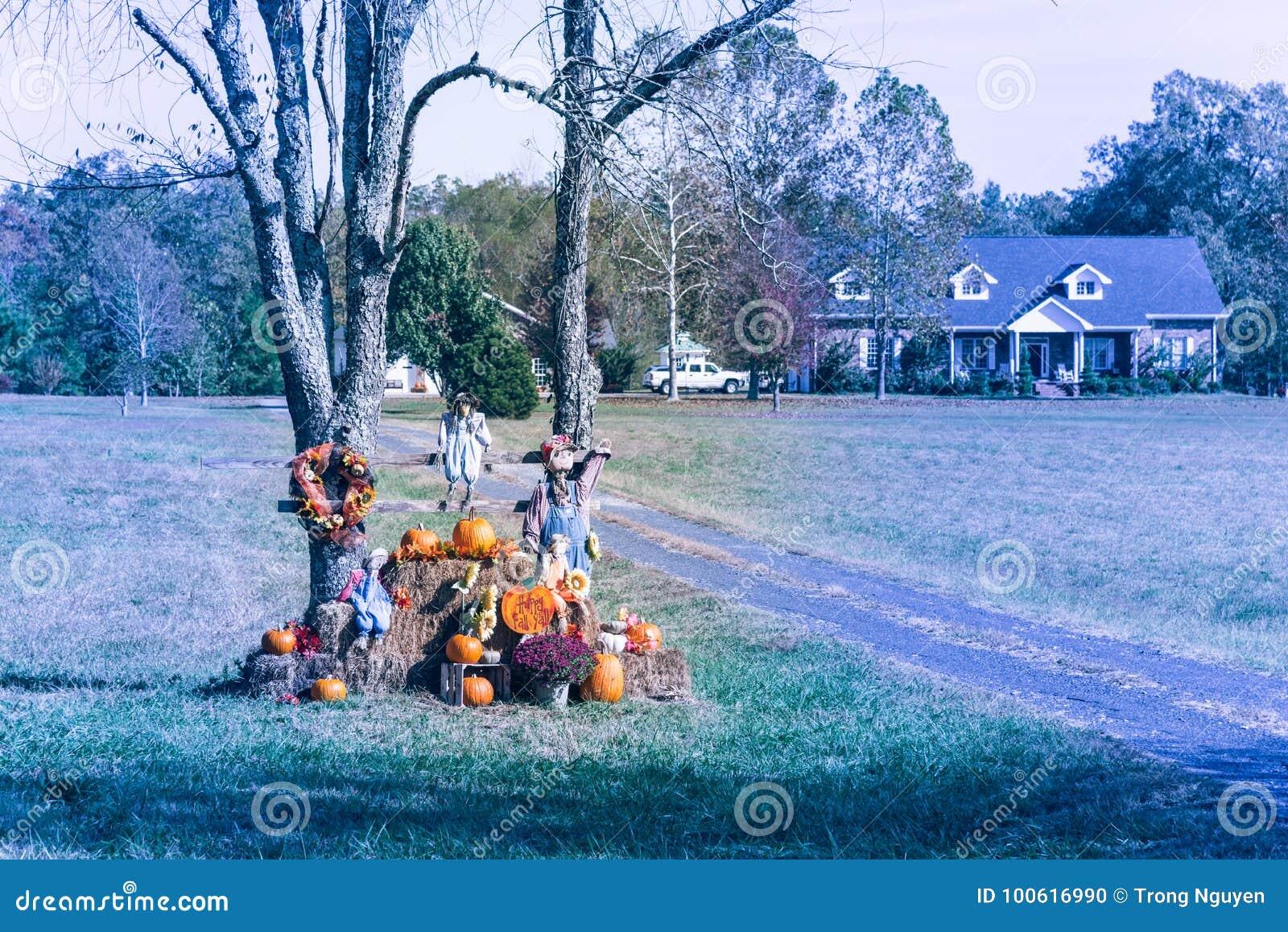 Deco Maison Halloween Etats Unis