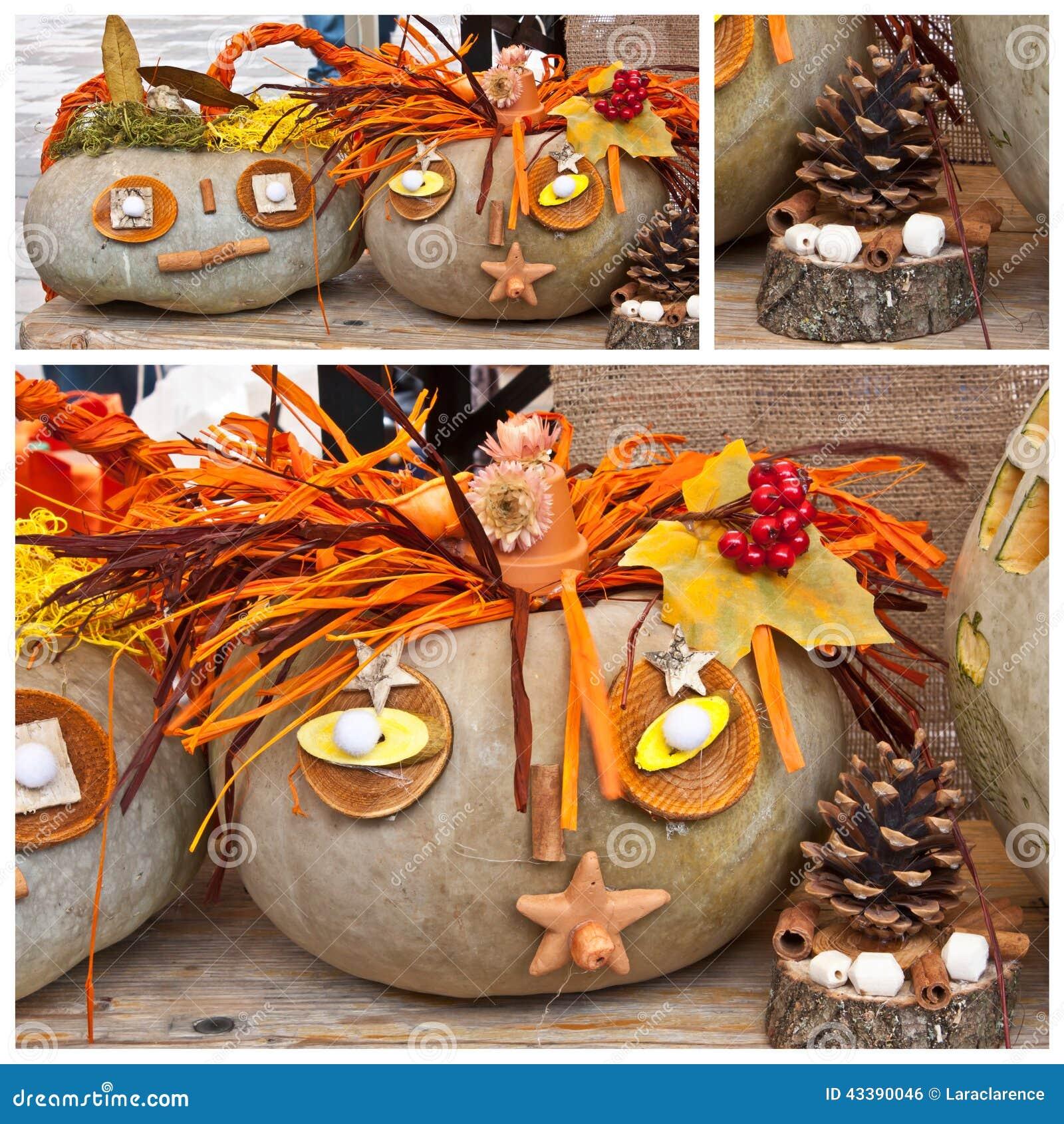 d coration de jardin pour l 39 automne photo stock image 43390046. Black Bedroom Furniture Sets. Home Design Ideas