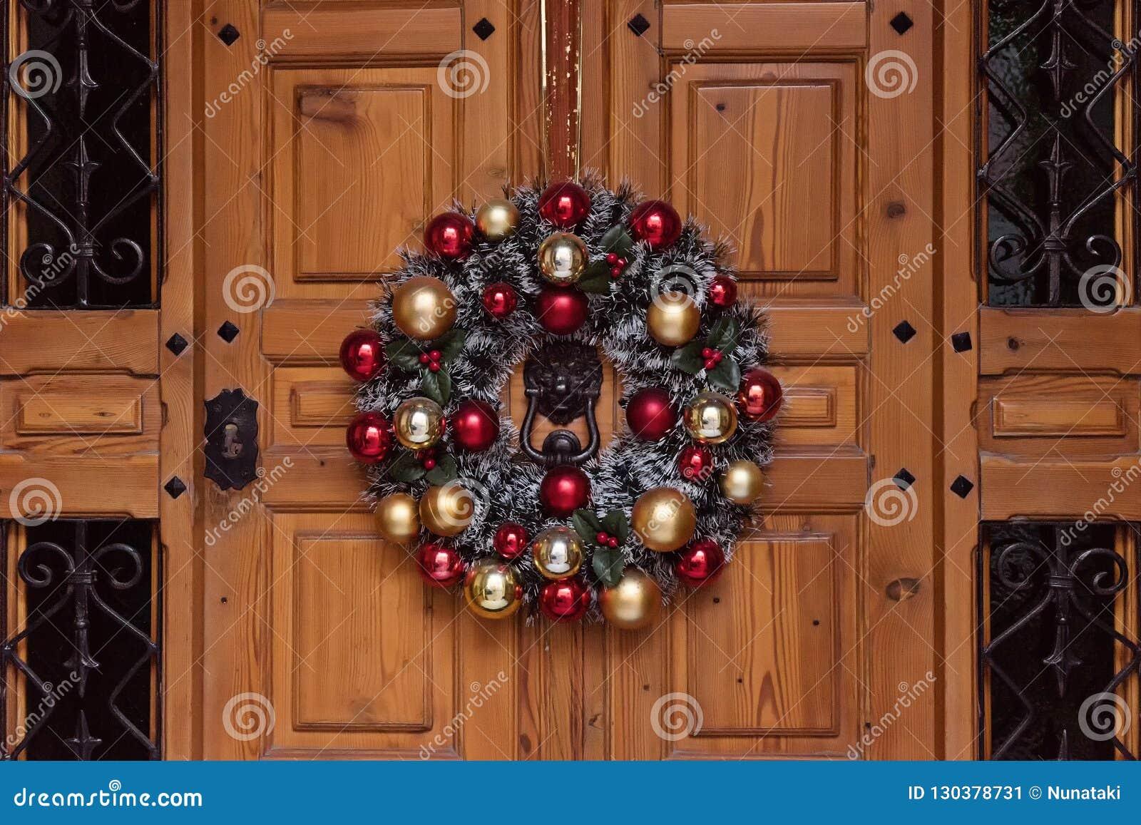 Decoration De La Maison Pour Noel Image Stock Image Du